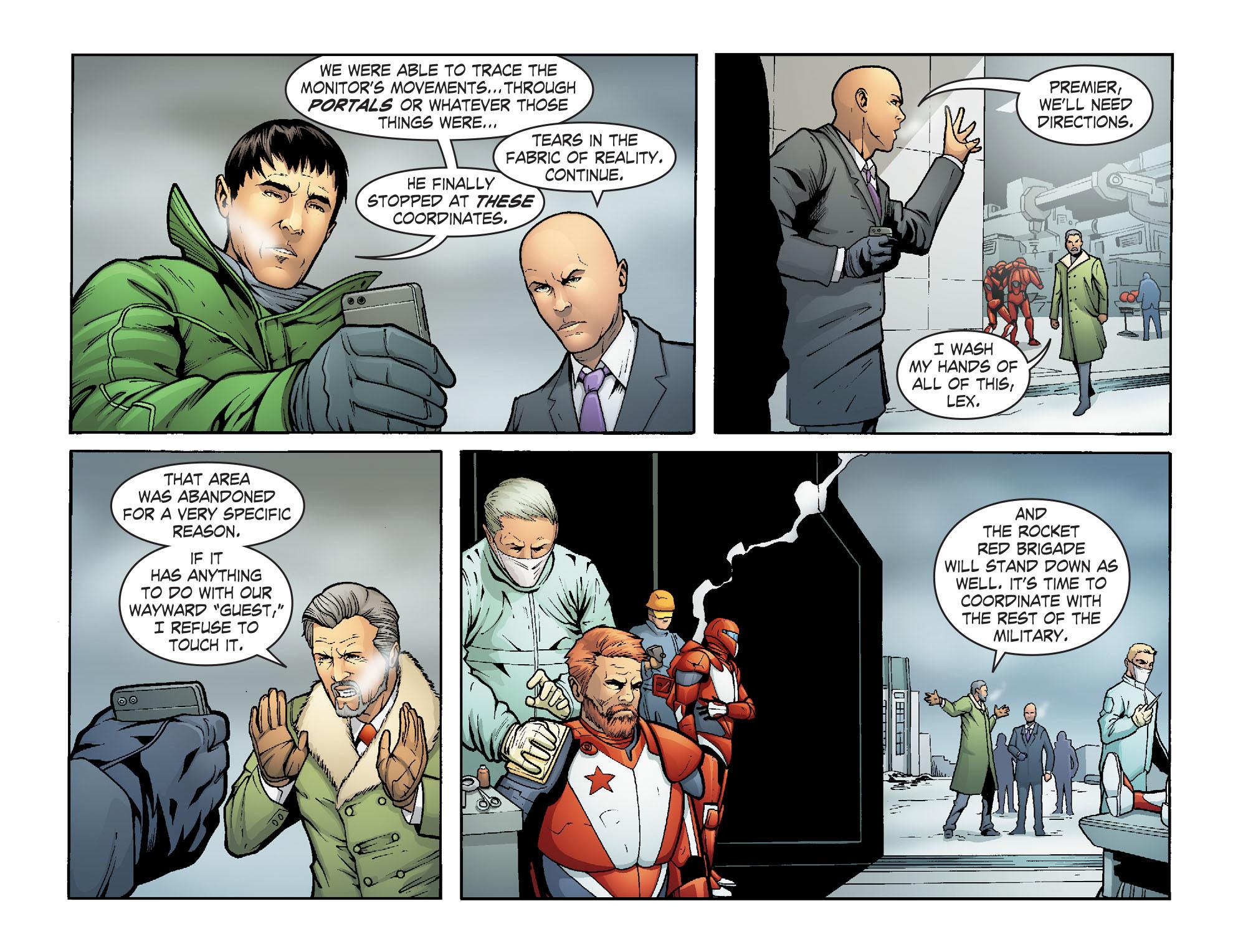 Read online Smallville: Alien comic -  Issue #7 - 13