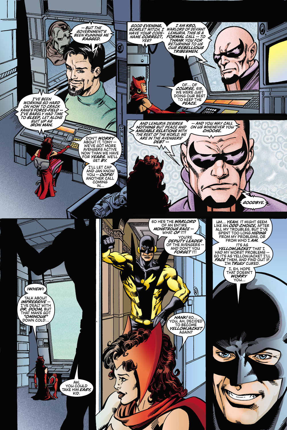 Read online Avengers (1998) comic -  Issue #45 - 9