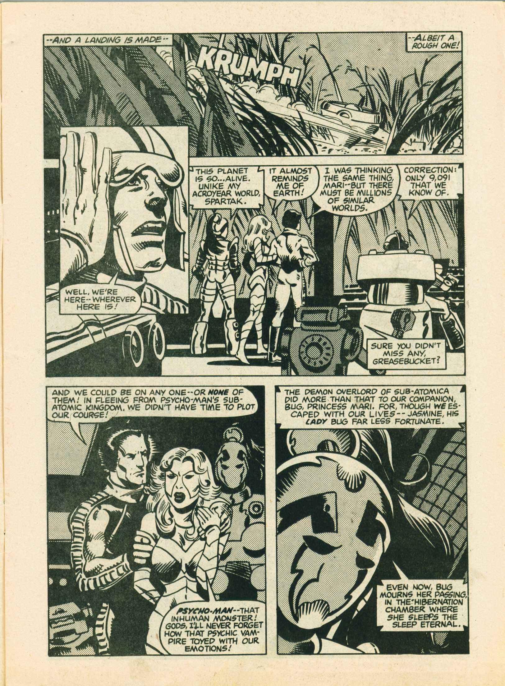Read online Future Tense comic -  Issue #1 - 5