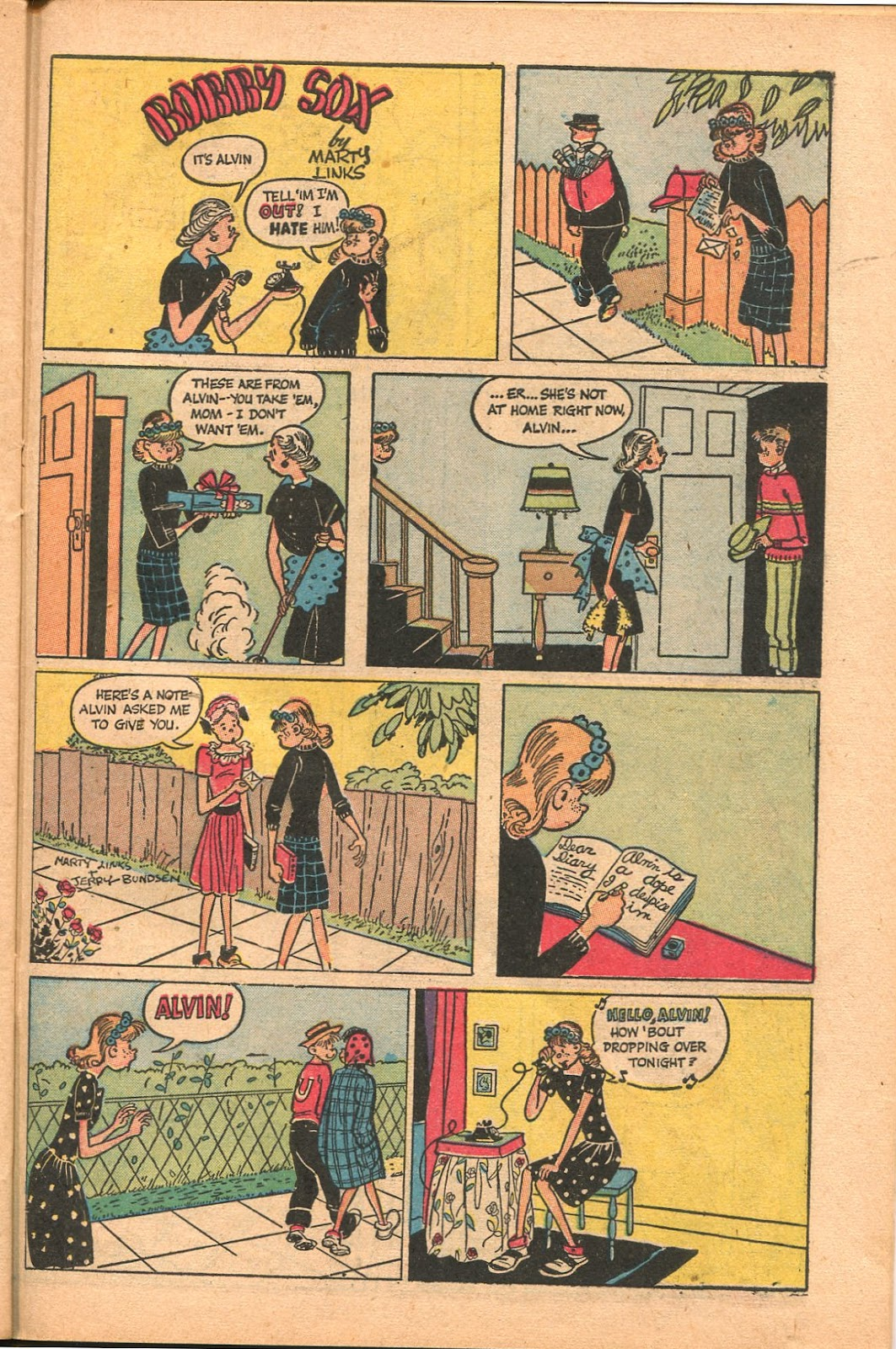 Read online Famous Funnies comic -  Issue #165 - 39