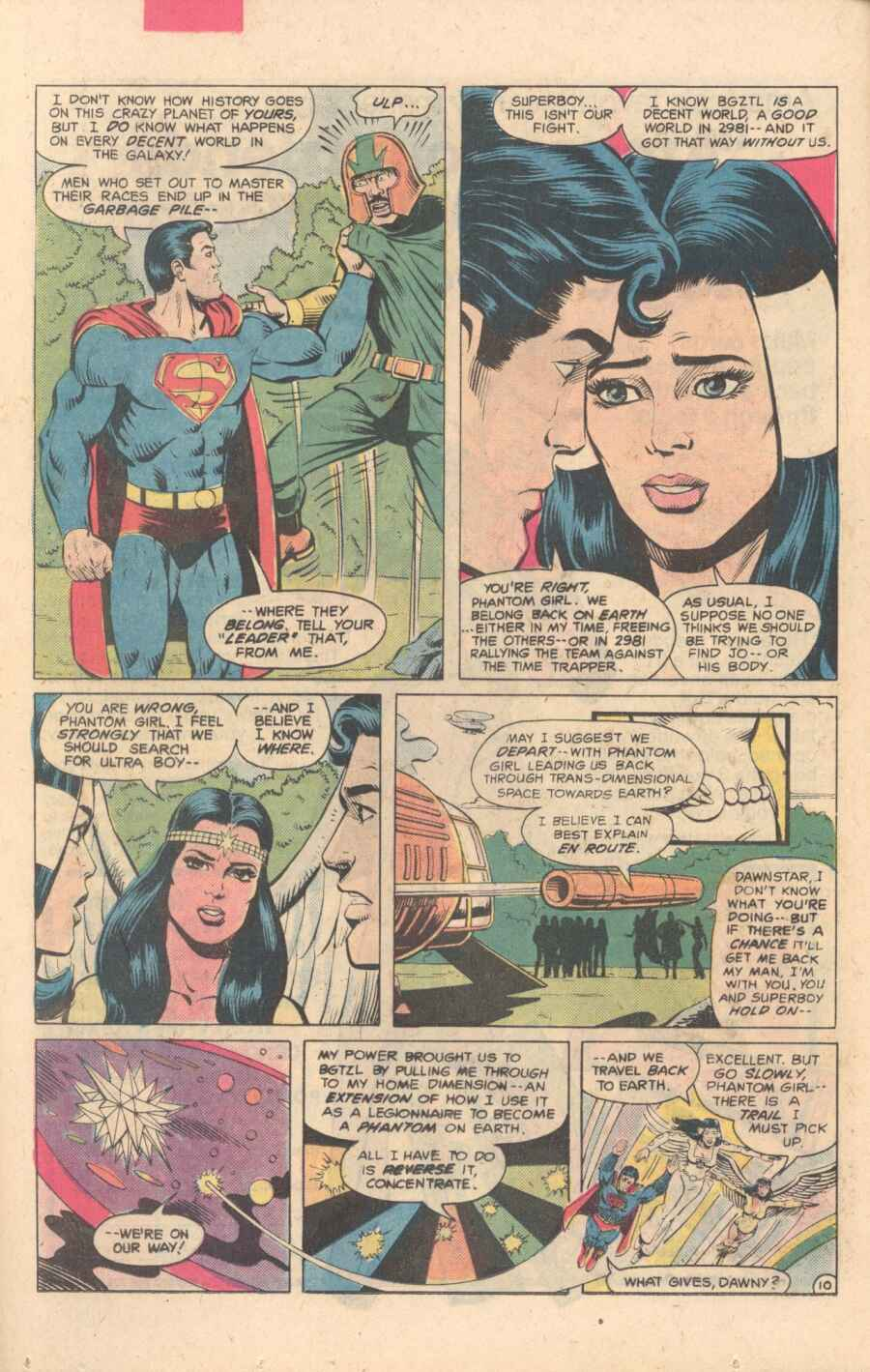 Legion of Super-Heroes (1980) 282 Page 10