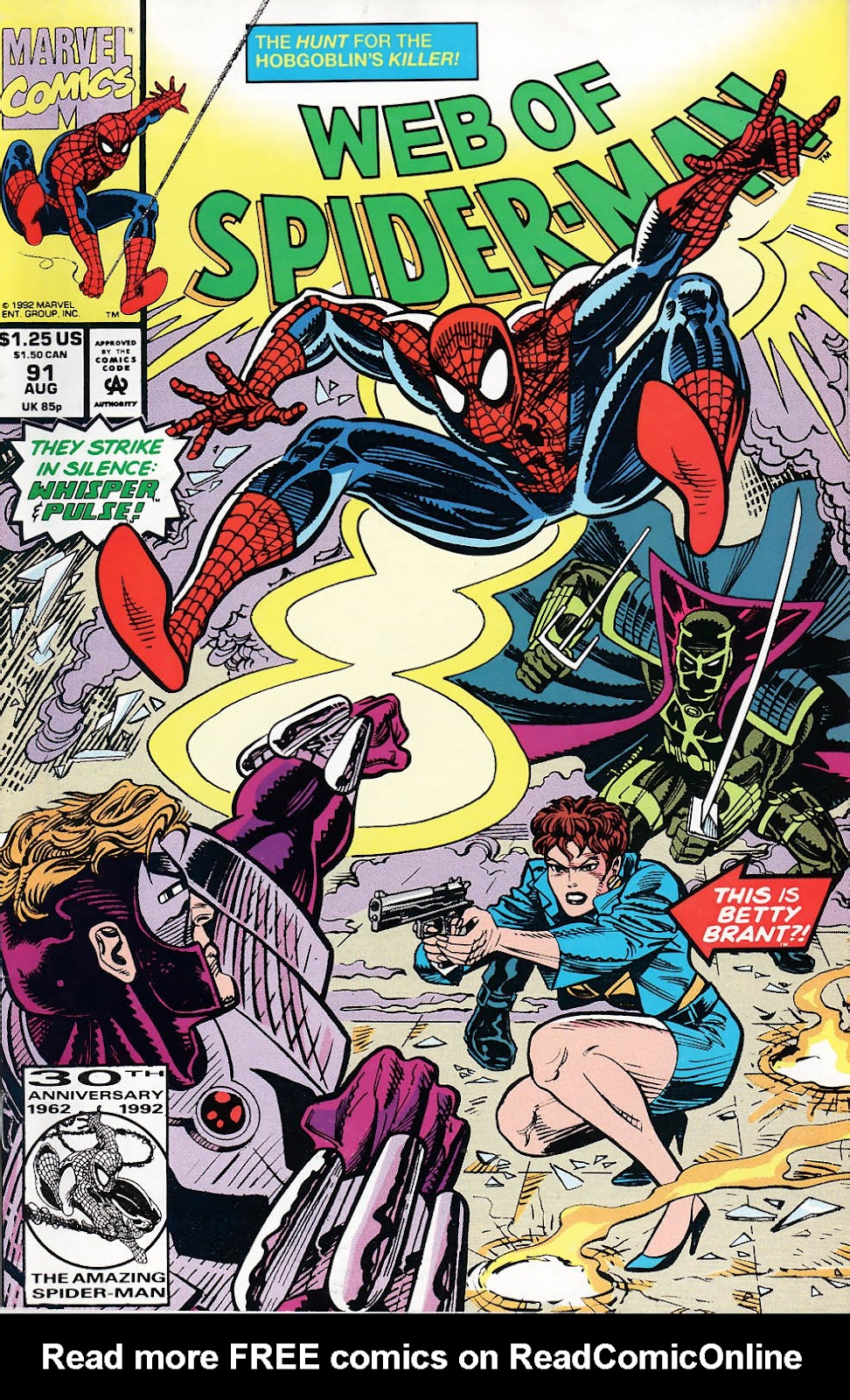 Web of Spider-Man (1985) 91 Page 1