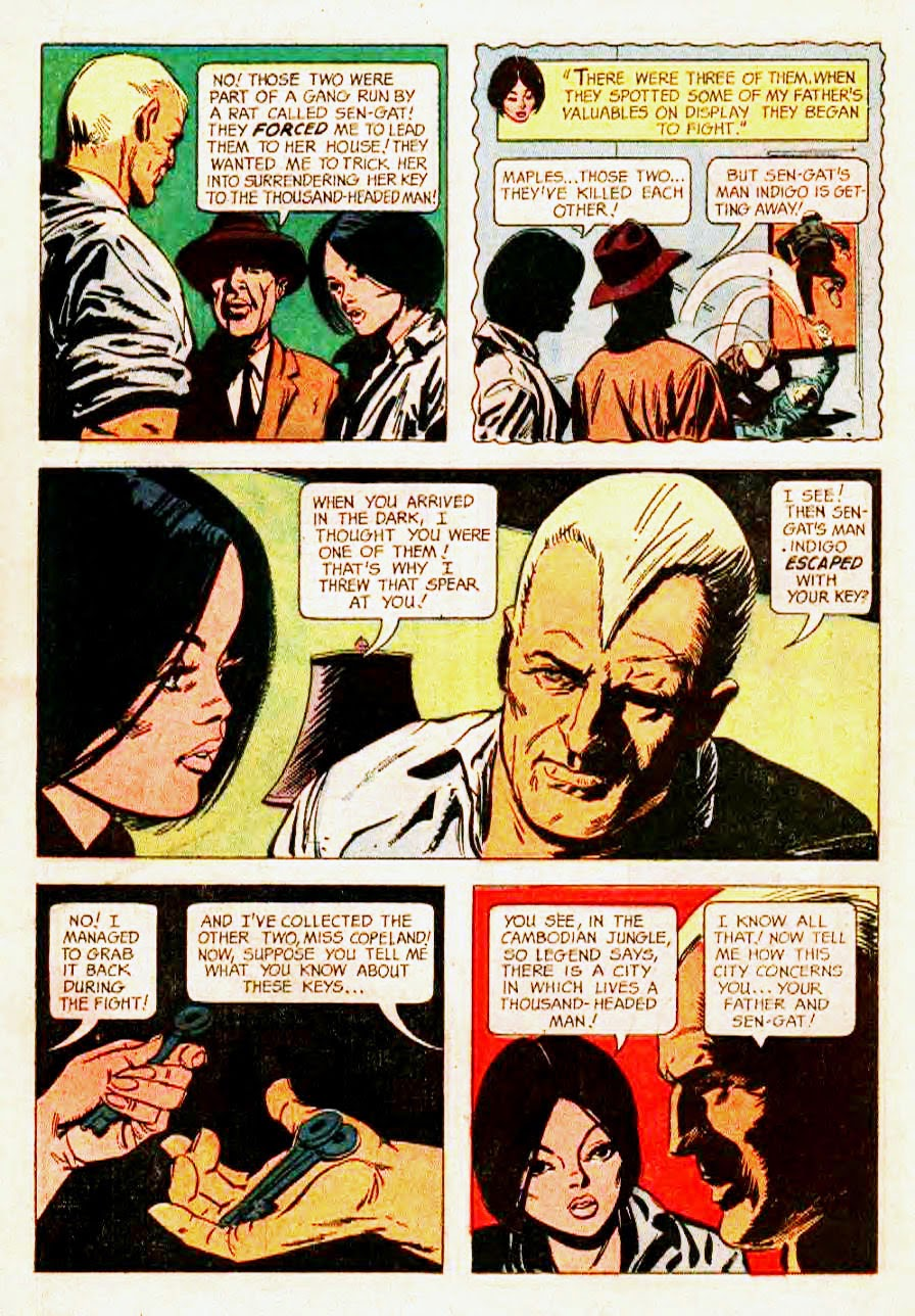 Read online Doc Savage (1966) comic -  Issue # Full - 14