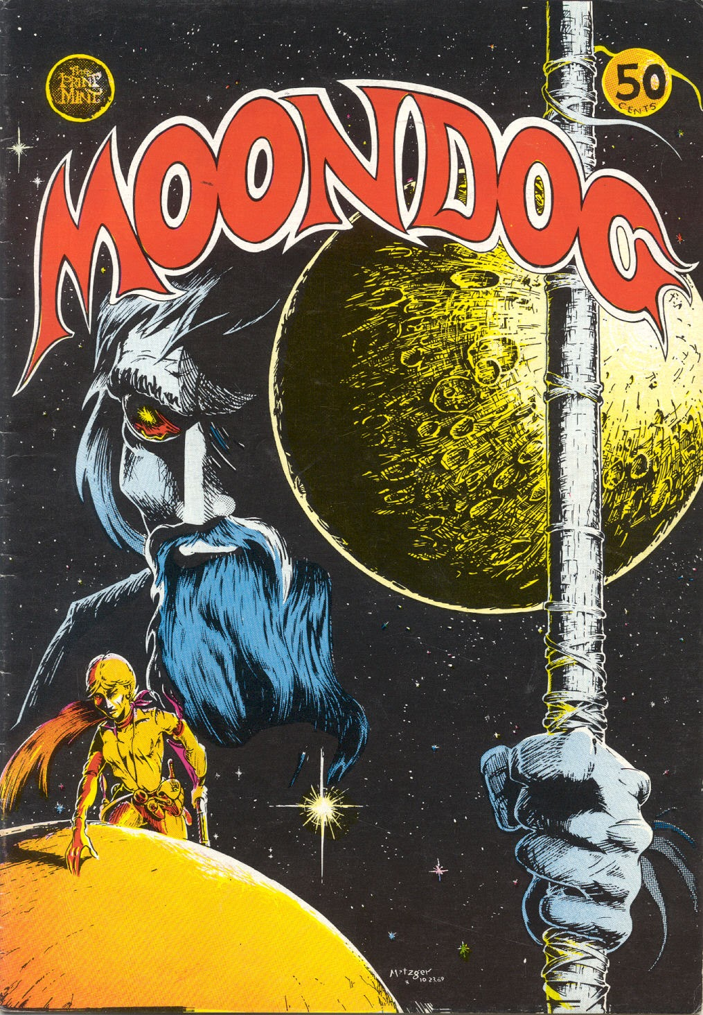 Moondog issue 1 - Page 1