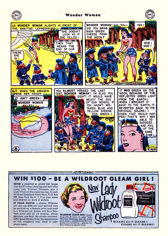Read online Wonder Woman (1942) comic -  Issue #59 - 22