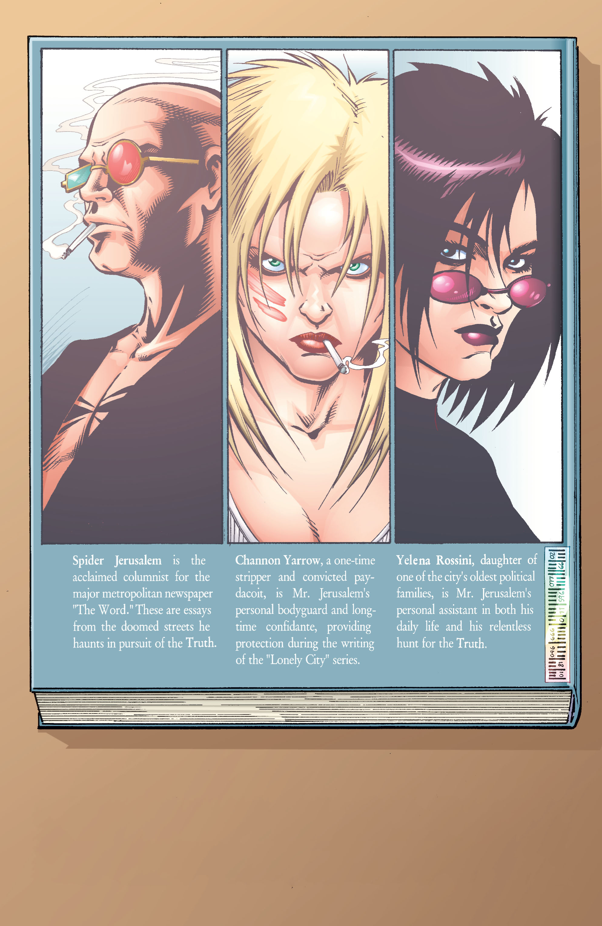 Read online Transmetropolitan comic -  Issue #28 - 3