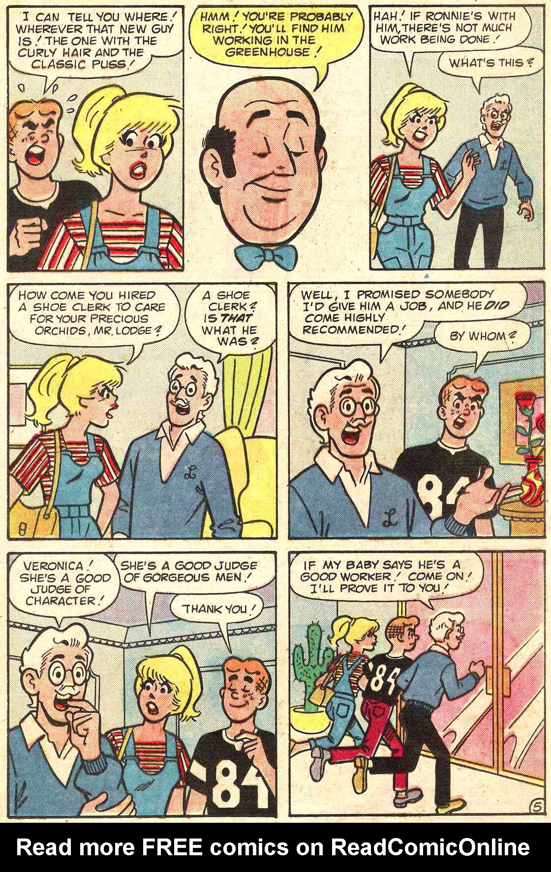 Read online Archie's Girls Betty and Veronica comic -  Issue #331 - 17
