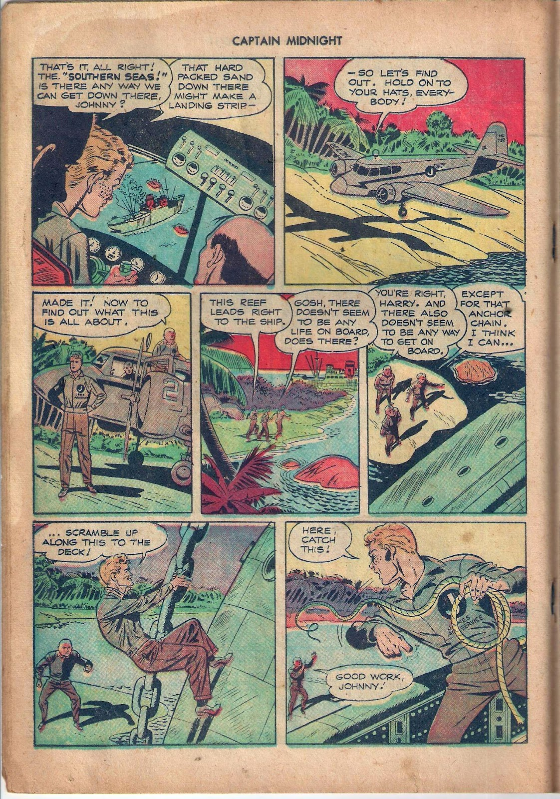 Captain Midnight (1942) issue 59 - Page 17