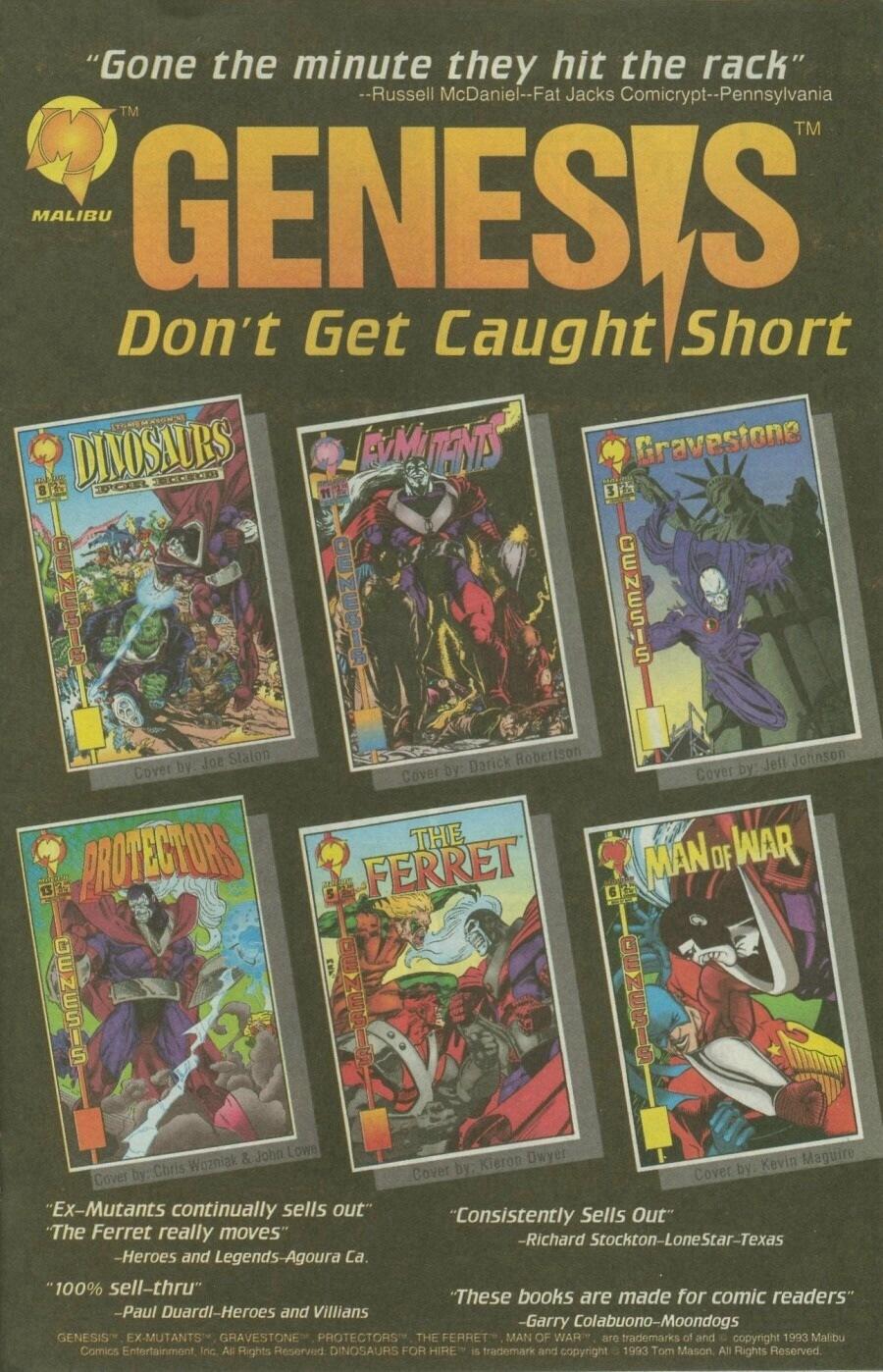 Read online Ex-Mutants comic -  Issue #10 - 20
