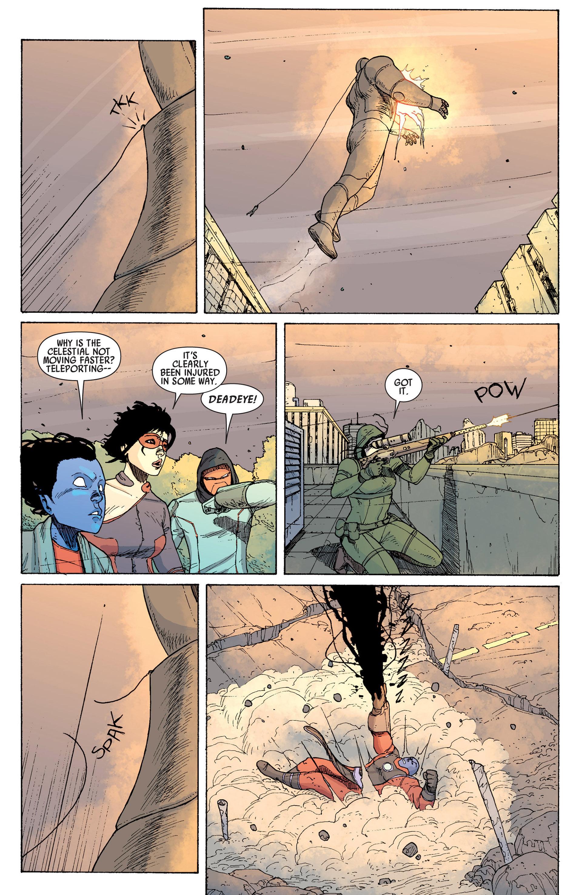Read online Age of Apocalypse (2012) comic -  Issue #14 - 19