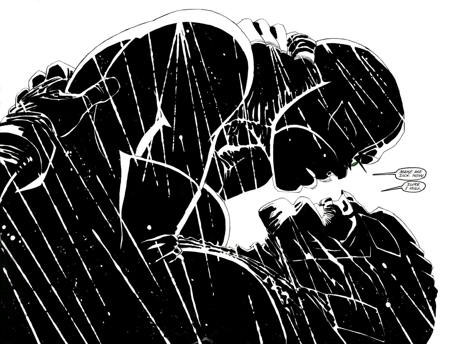 Read online Frank Miller's Holy Terror comic -  Issue # TPB - 30