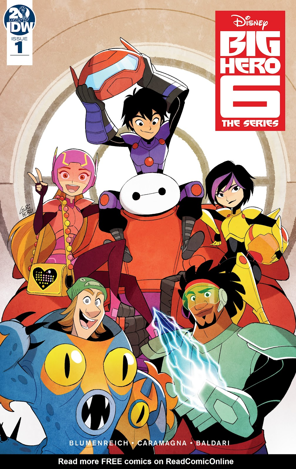 Read online Big Hero 6: The Series comic -  Issue #1 - 1