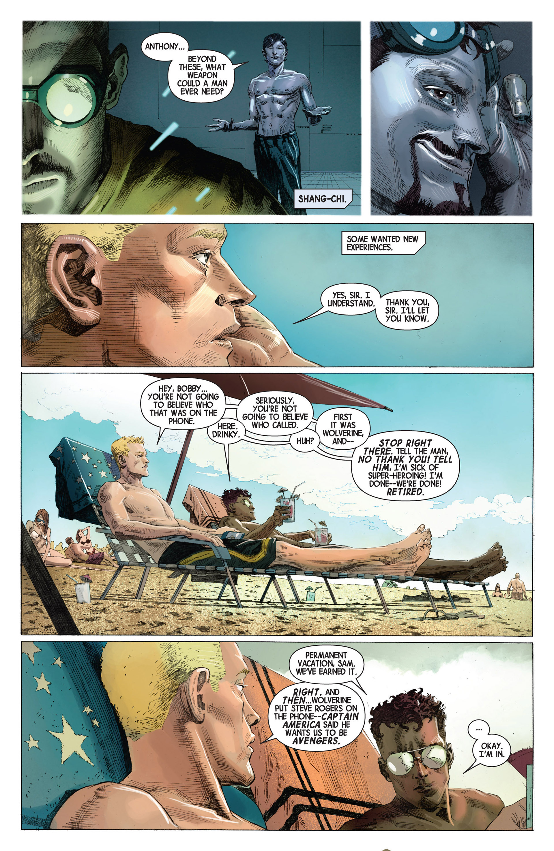 Read online Avengers (2013) comic -  Issue #2 - 15