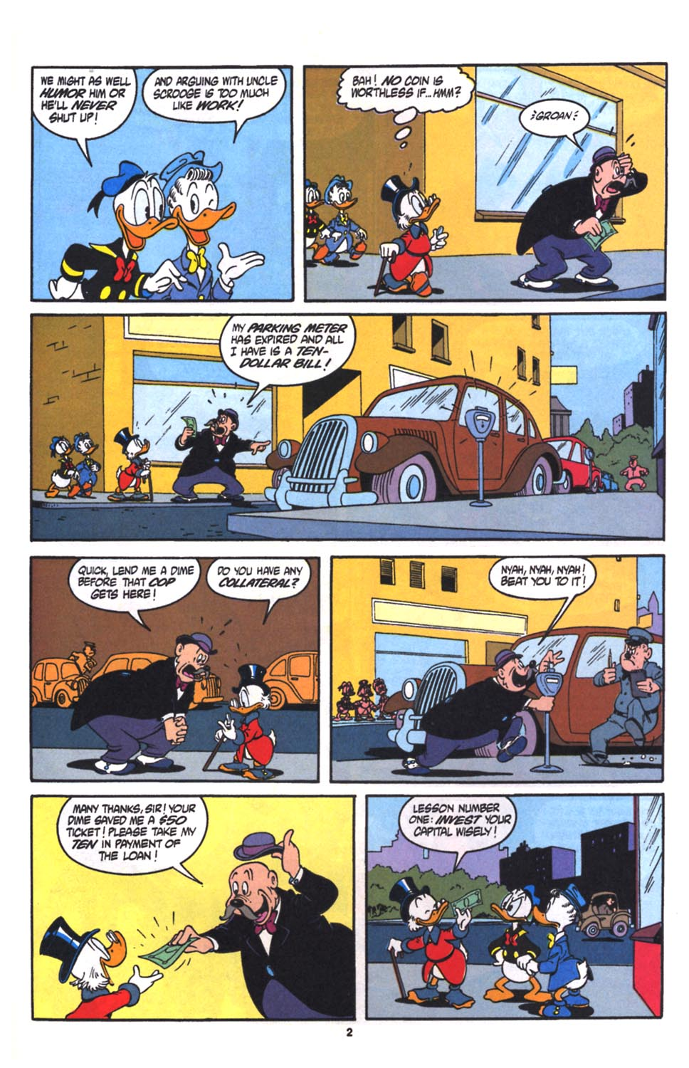 Read online Uncle Scrooge (1953) comic -  Issue #260 - 22