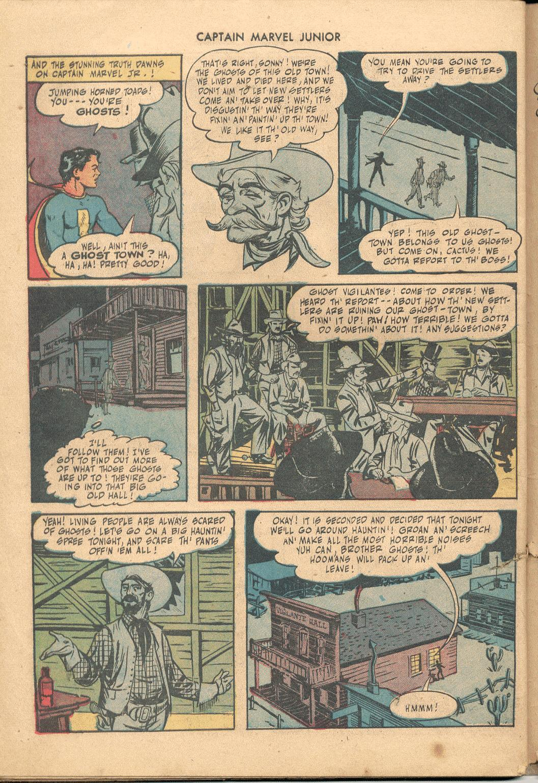 Captain Marvel, Jr. issue 38 - Page 41