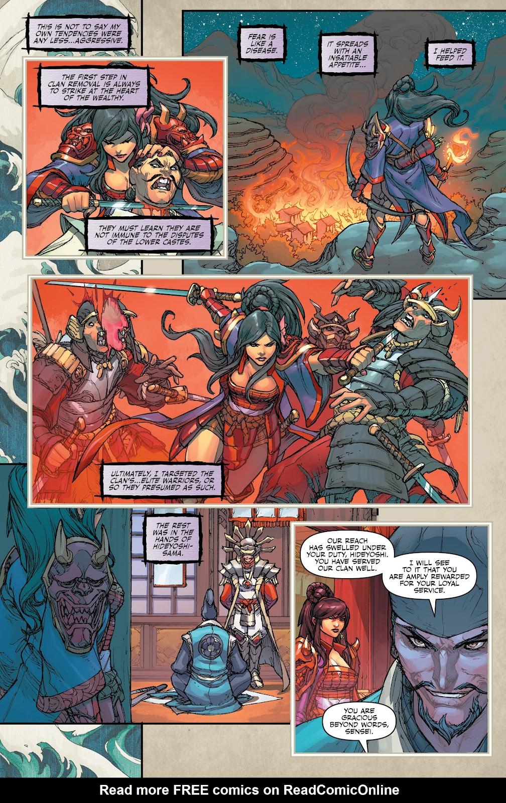 Read online Oniba: Swords of the Demon comic -  Issue # Full - 6