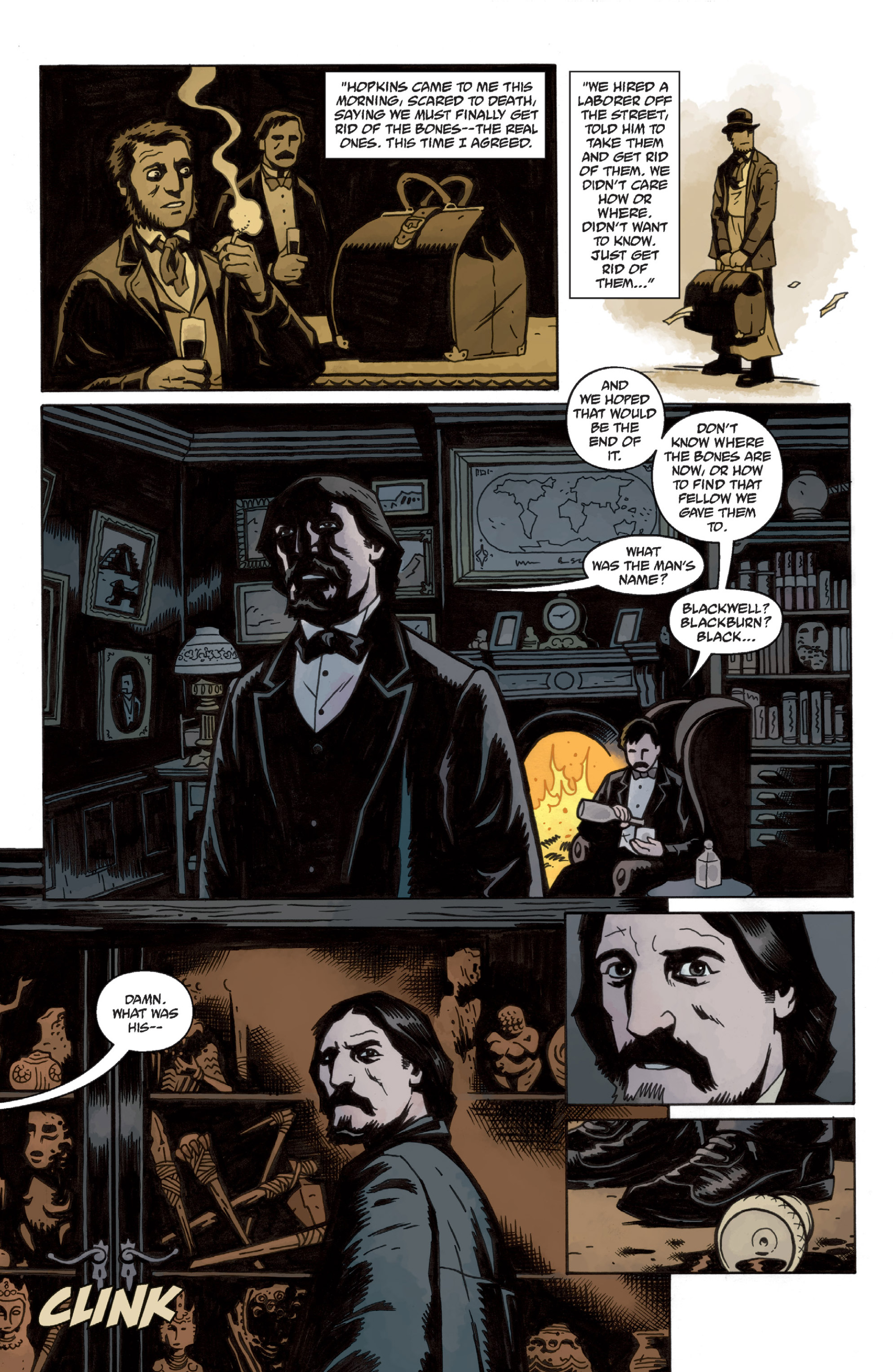 Read online Sir Edward Grey, Witchfinder: In the Service of Angels comic -  Issue # TPB - 16