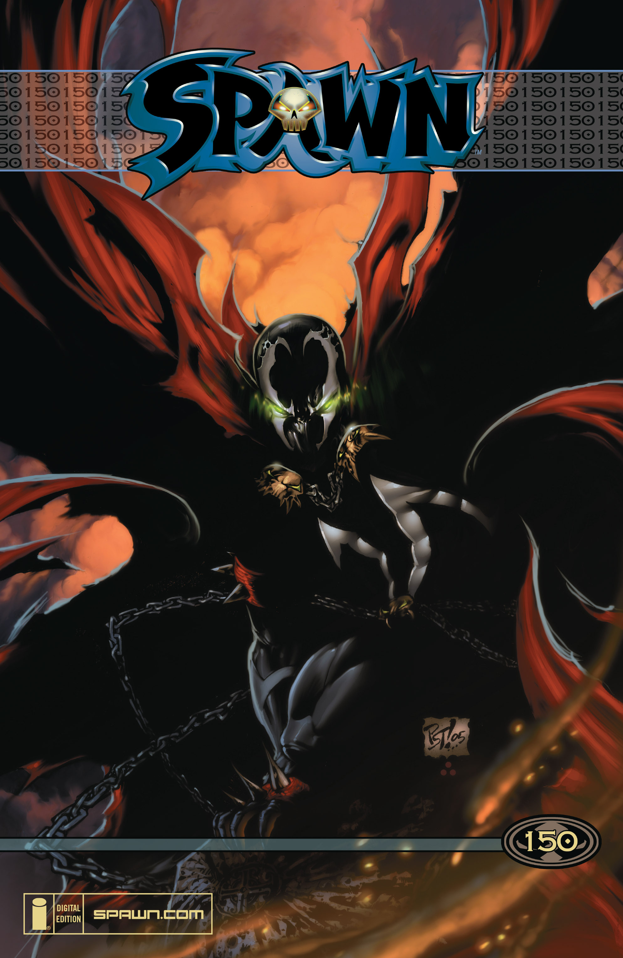 Spawn 150 Page 1