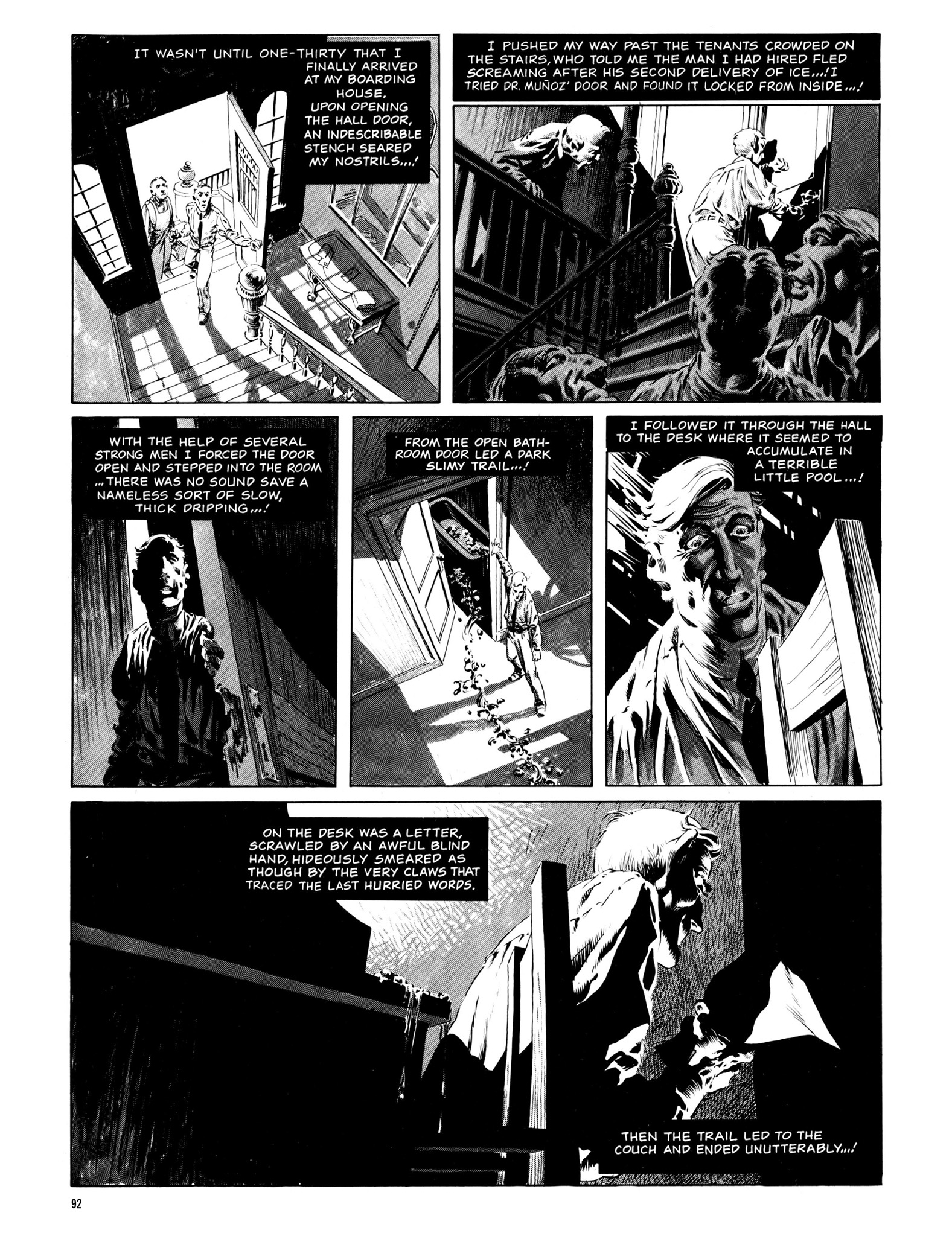 Read online Eerie Archives comic -  Issue # TPB 13 - 93
