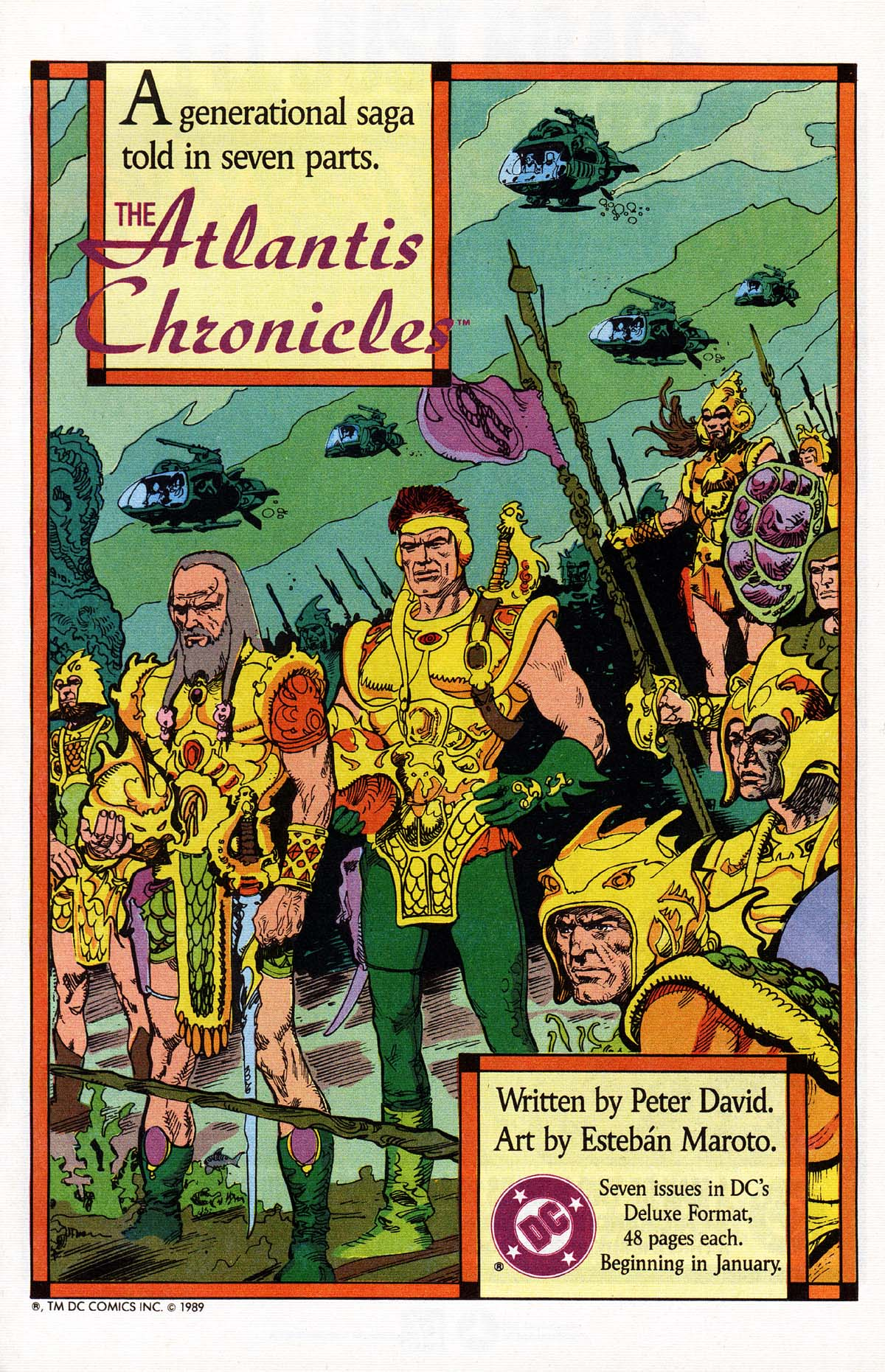 Read online Advanced Dungeons & Dragons comic -  Issue #16 - 31