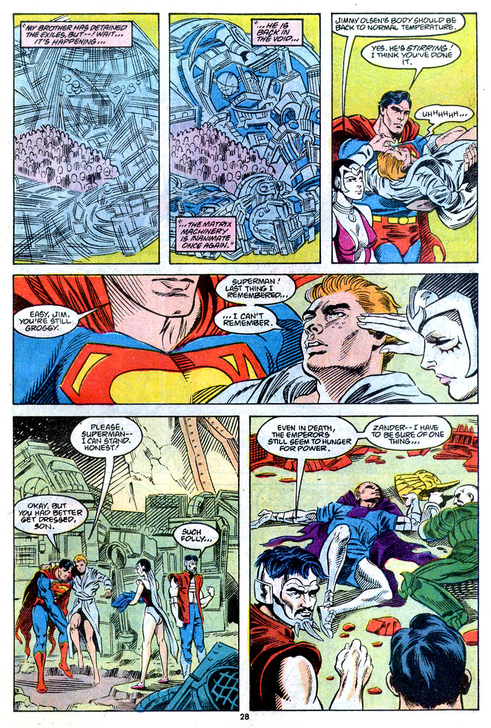 Read online Adventures of Superman (1987) comic -  Issue #443 - 30