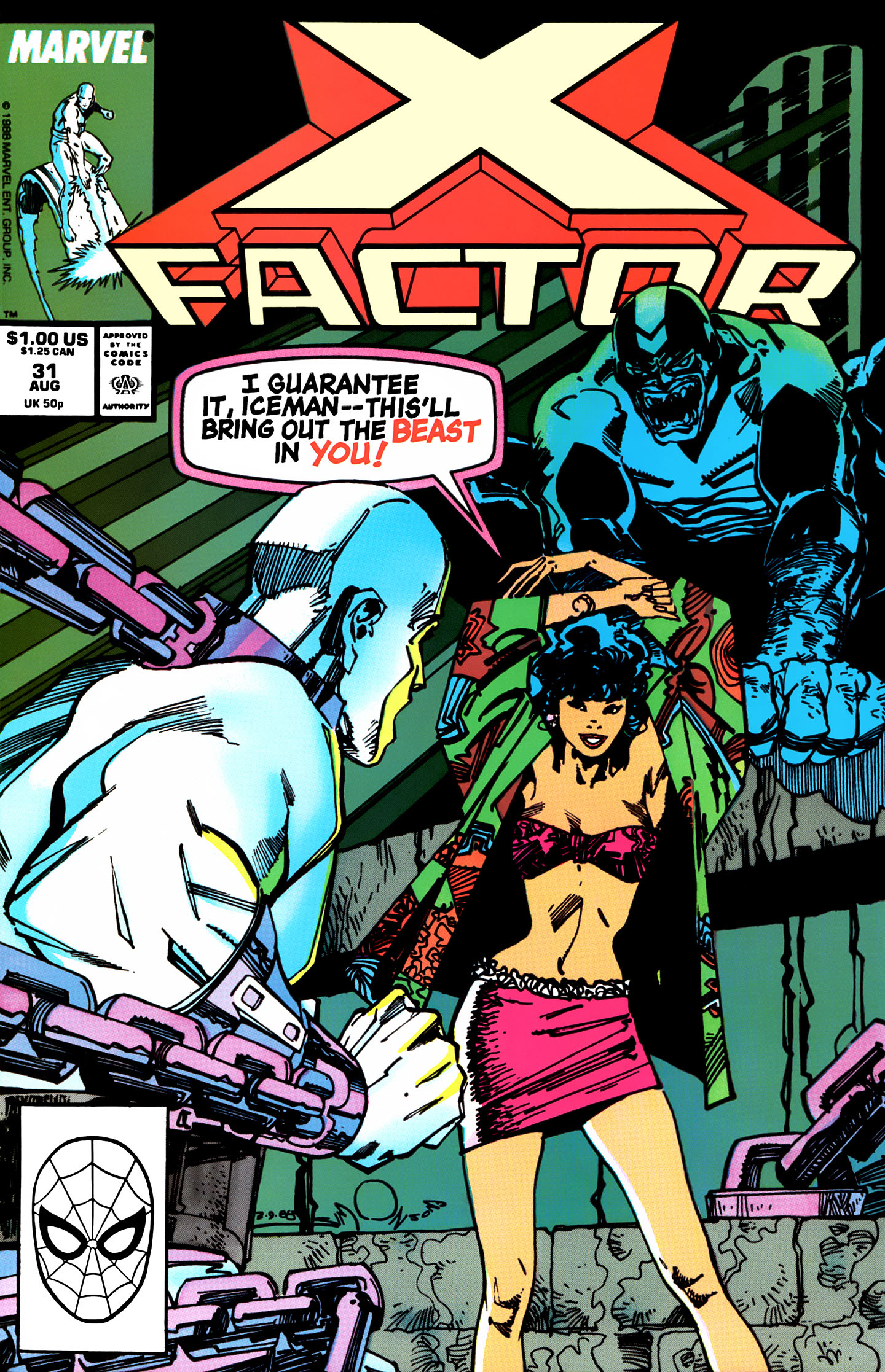 Read online X-Factor (1986) comic -  Issue #31 - 1