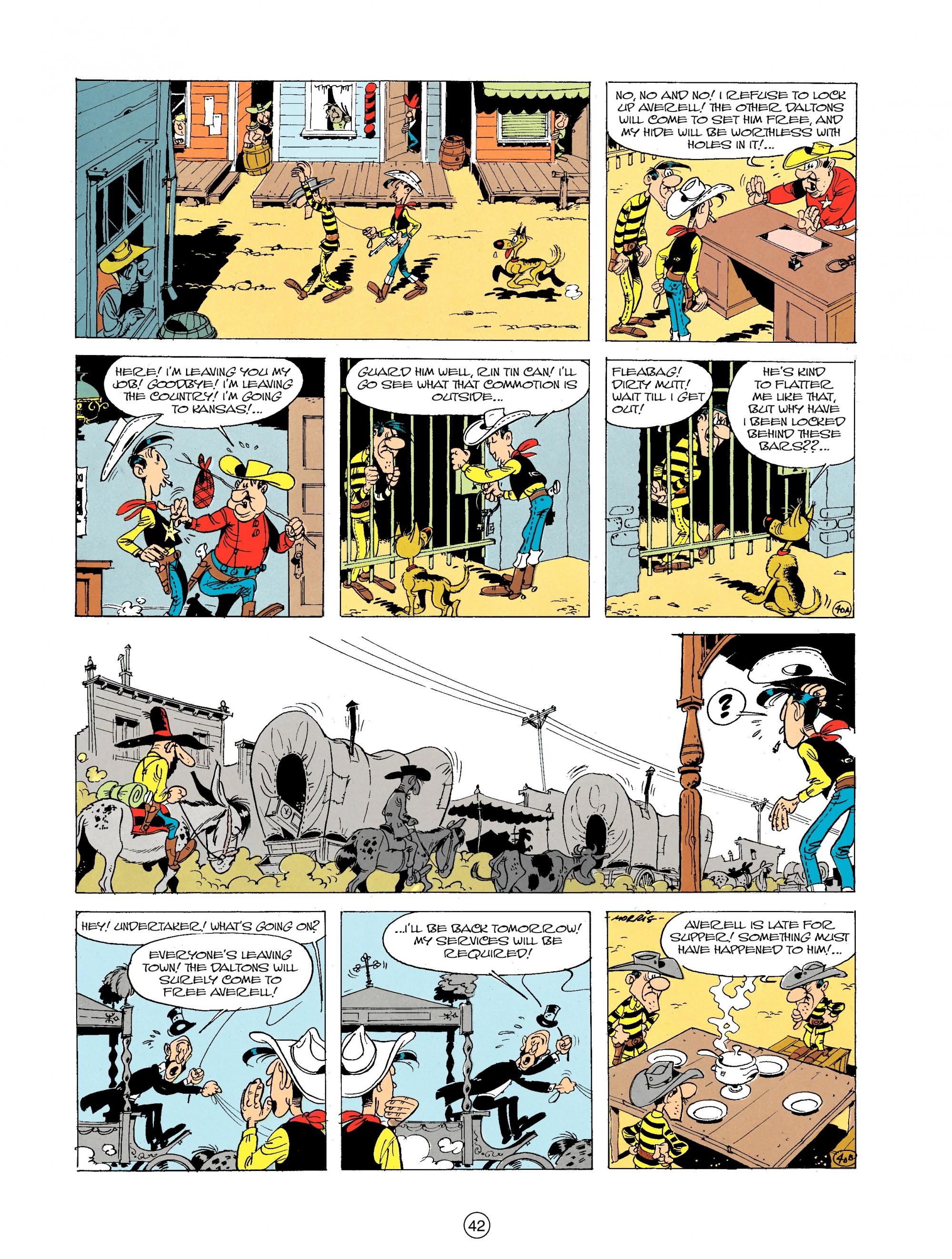 Read online A Lucky Luke Adventure comic -  Issue #19 - 42