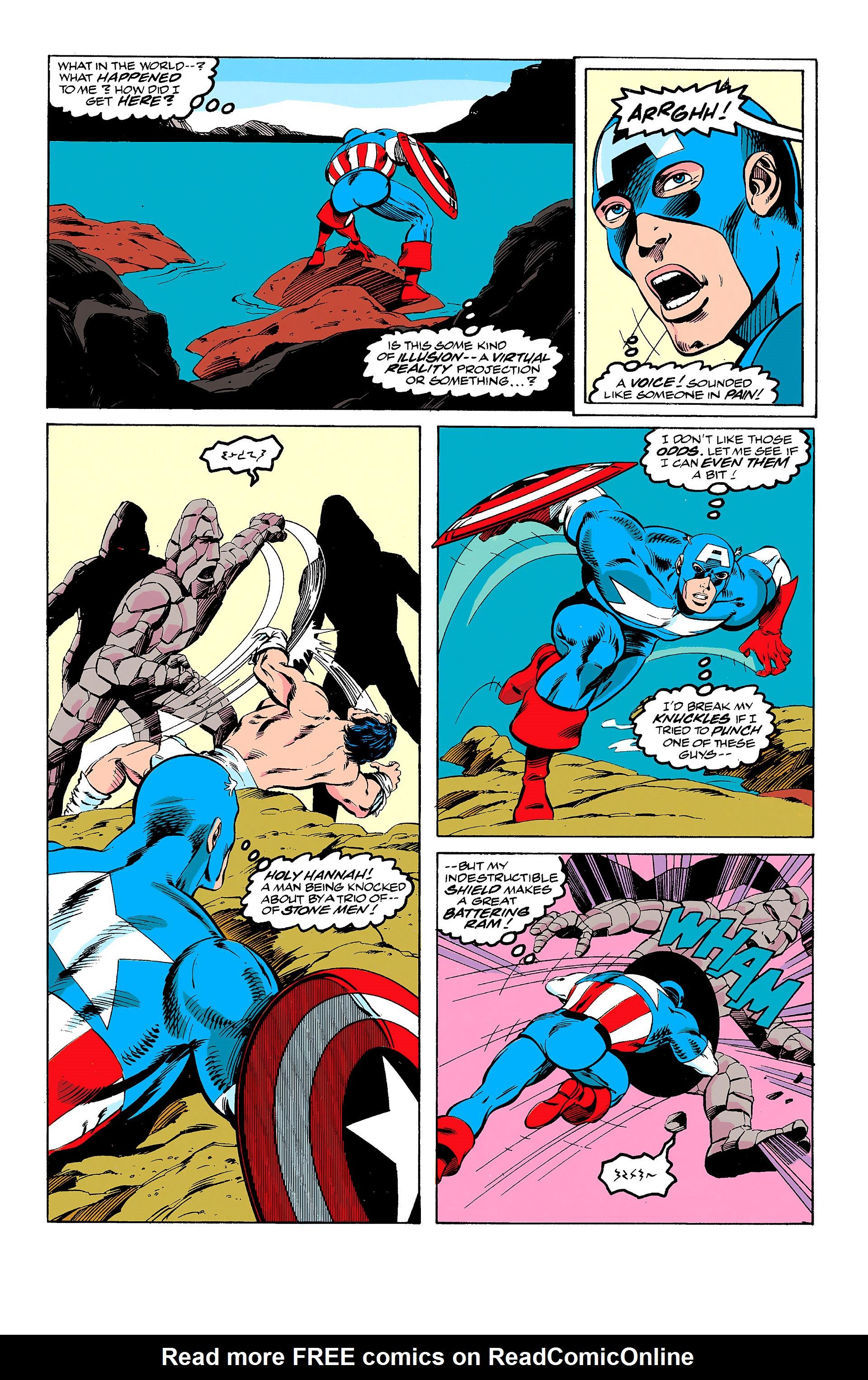 Read online Captain America (1968) comic -  Issue # _Annual 11 - 10