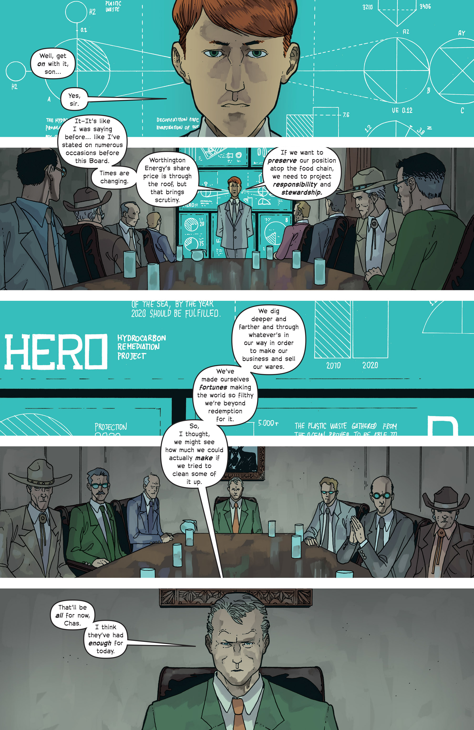 Read online Great Pacific comic -  Issue #18 - 13