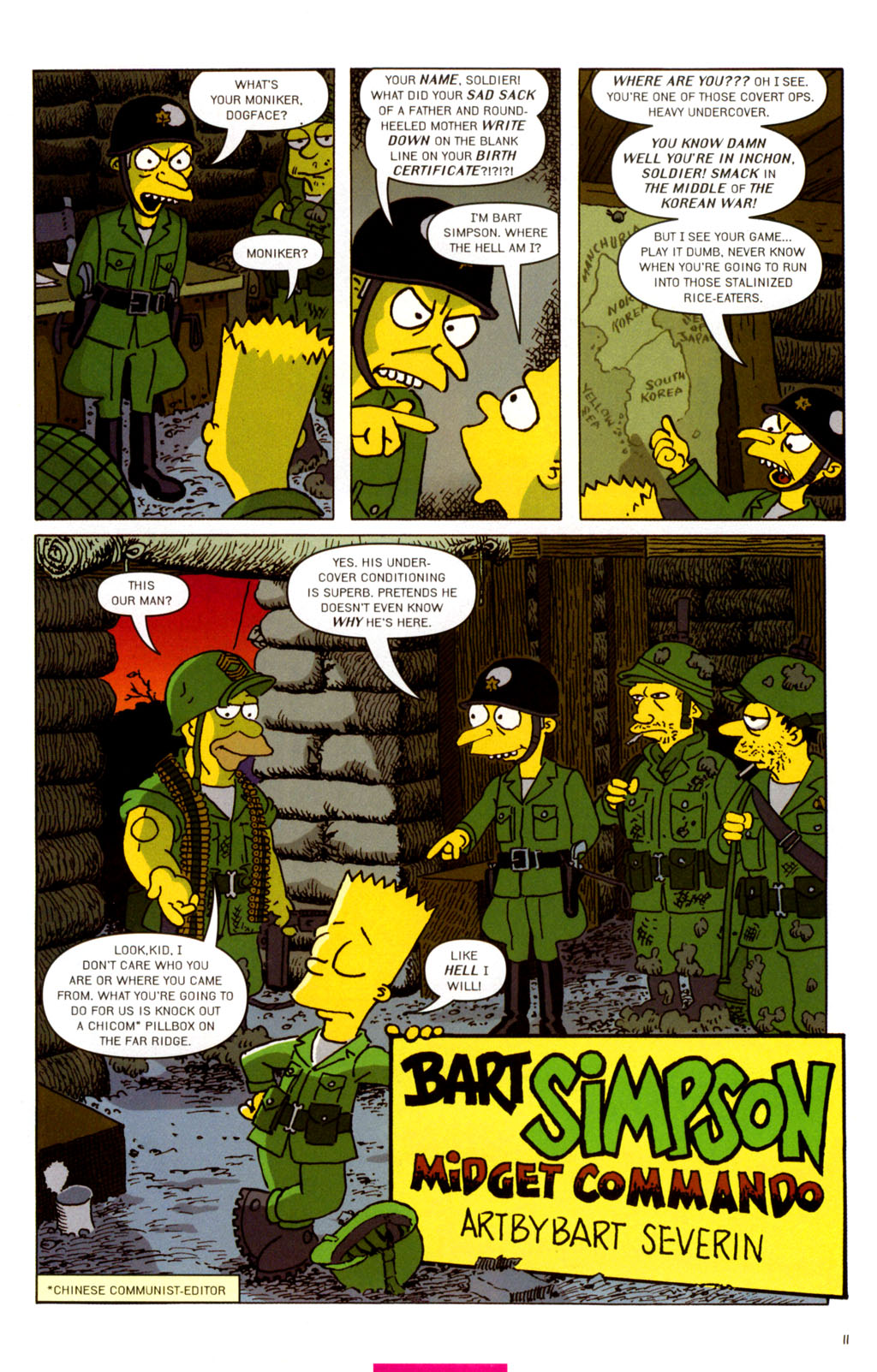 Read online Treehouse of Horror comic -  Issue #11 - 42