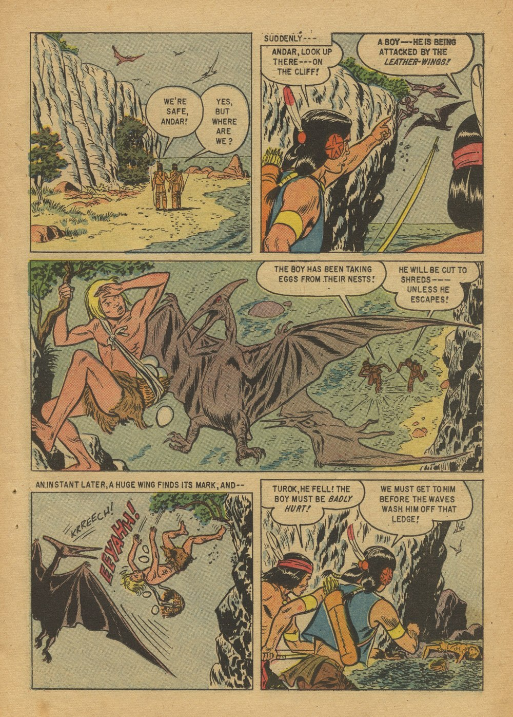 Read online Turok, Son of Stone comic -  Issue #12 - 23