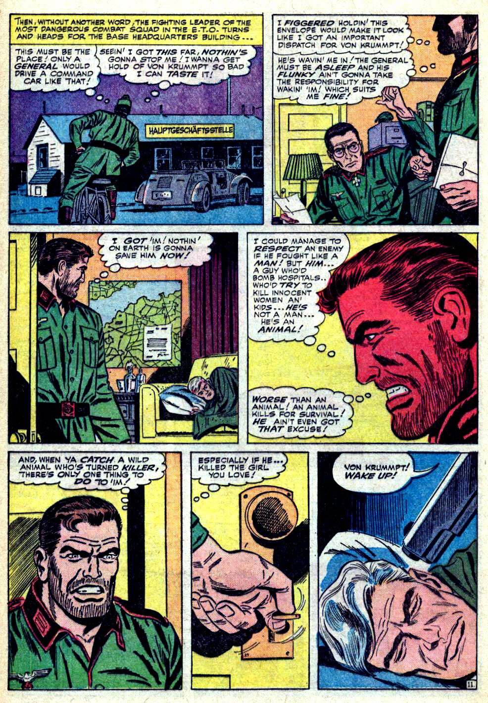 Read online Sgt. Fury comic -  Issue #19 - 16