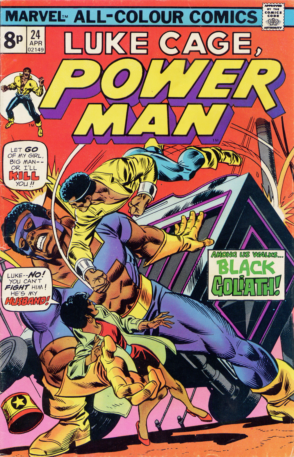 Power Man issue 24 - Page 1