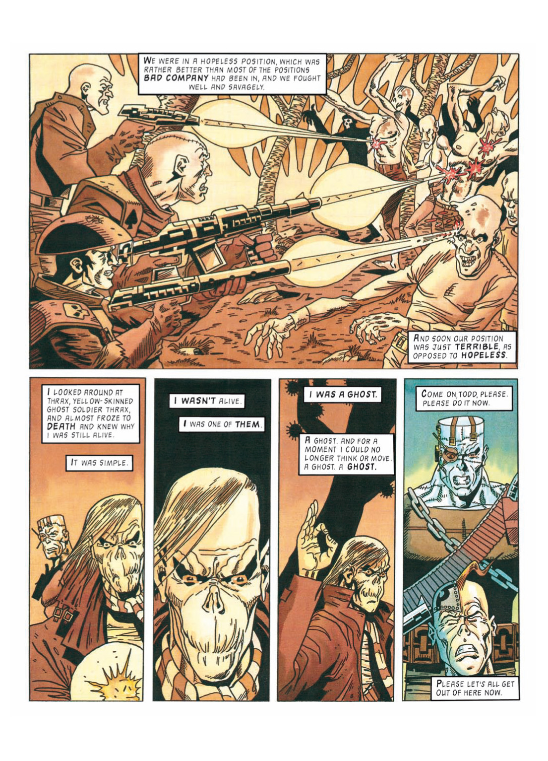 Read online The Complete Bad Company comic -  Issue # TPB - 301