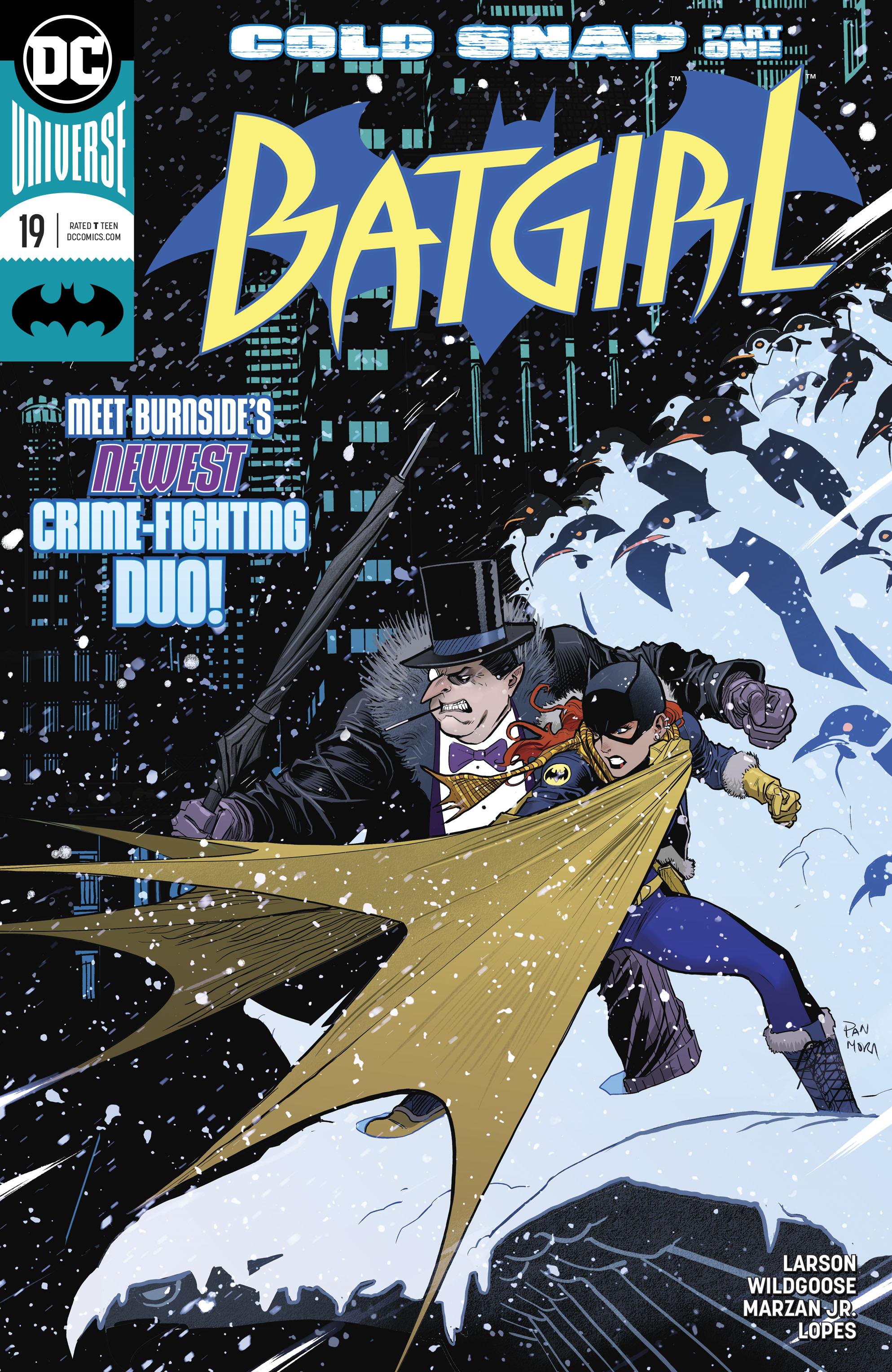 Batgirl (2016) 19 Page 1