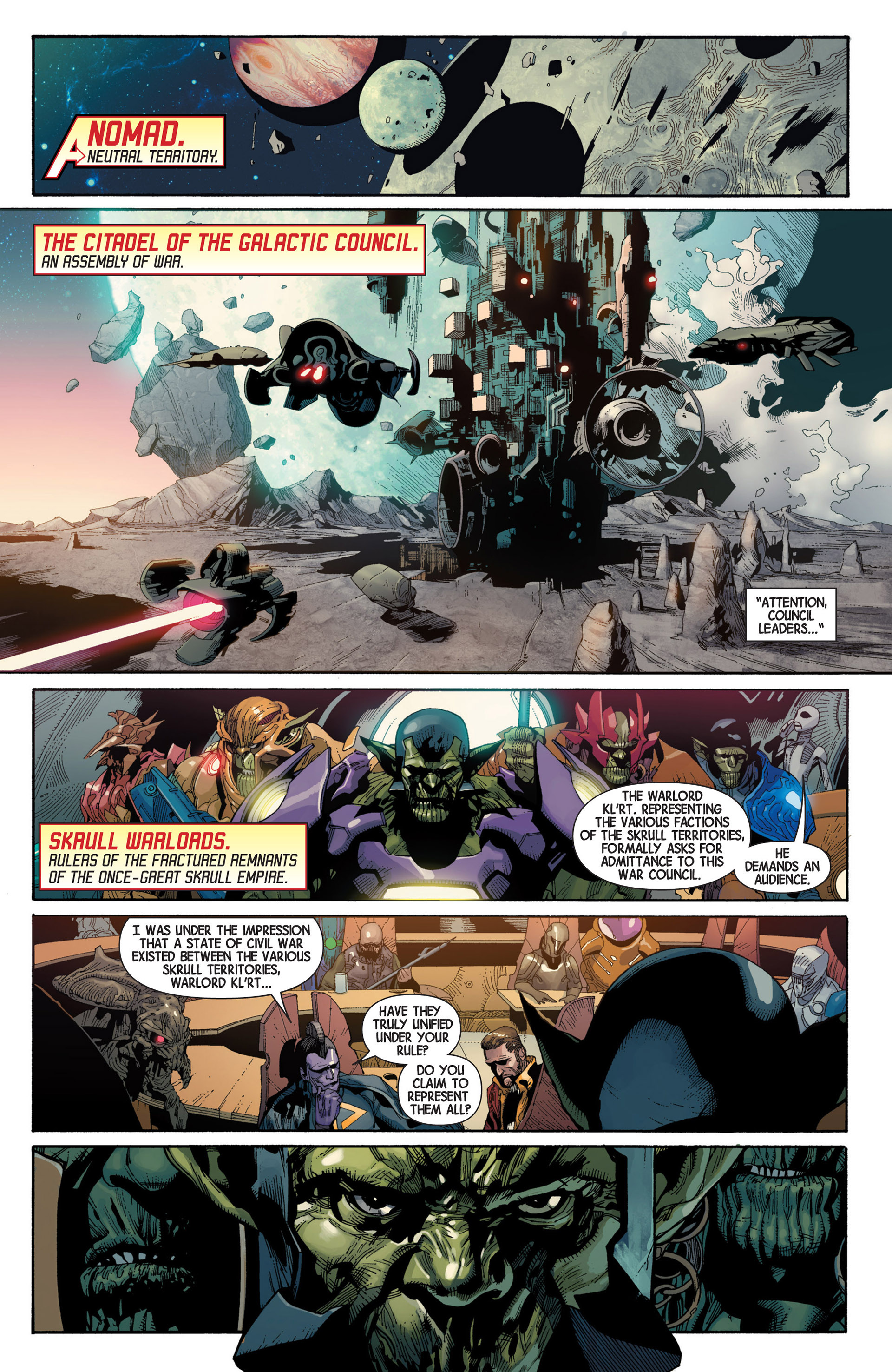 Read online Avengers (2013) comic -  Issue #18 - 6