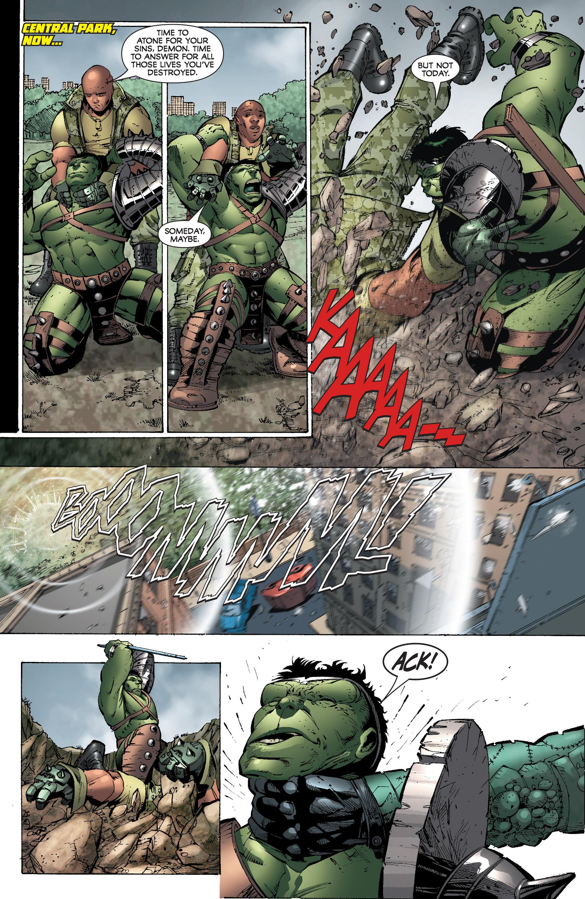 Read online World War Hulk: Gamma Corps comic -  Issue #3 - 17
