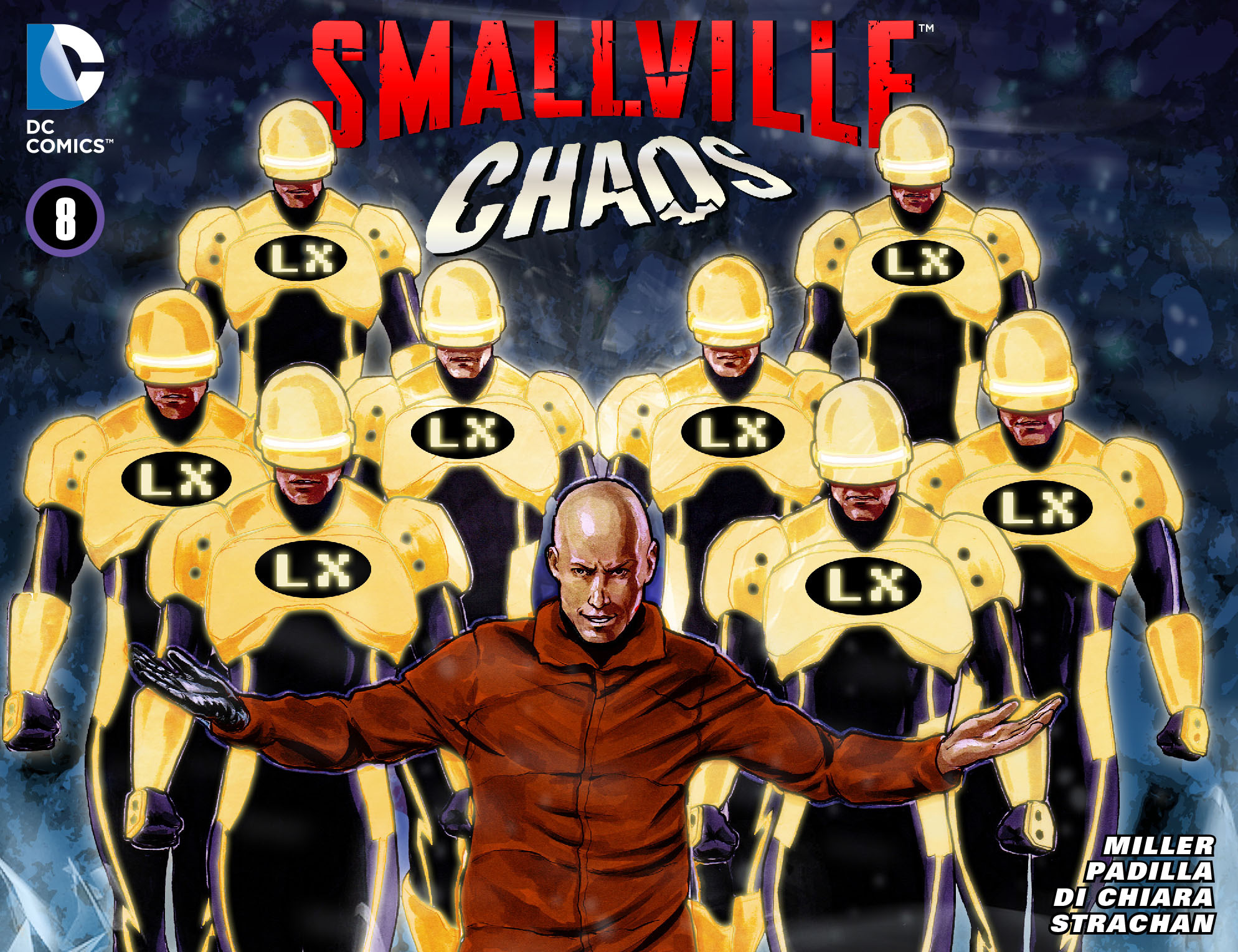 Read online Smallville: Chaos [II] comic -  Issue #8 - 1