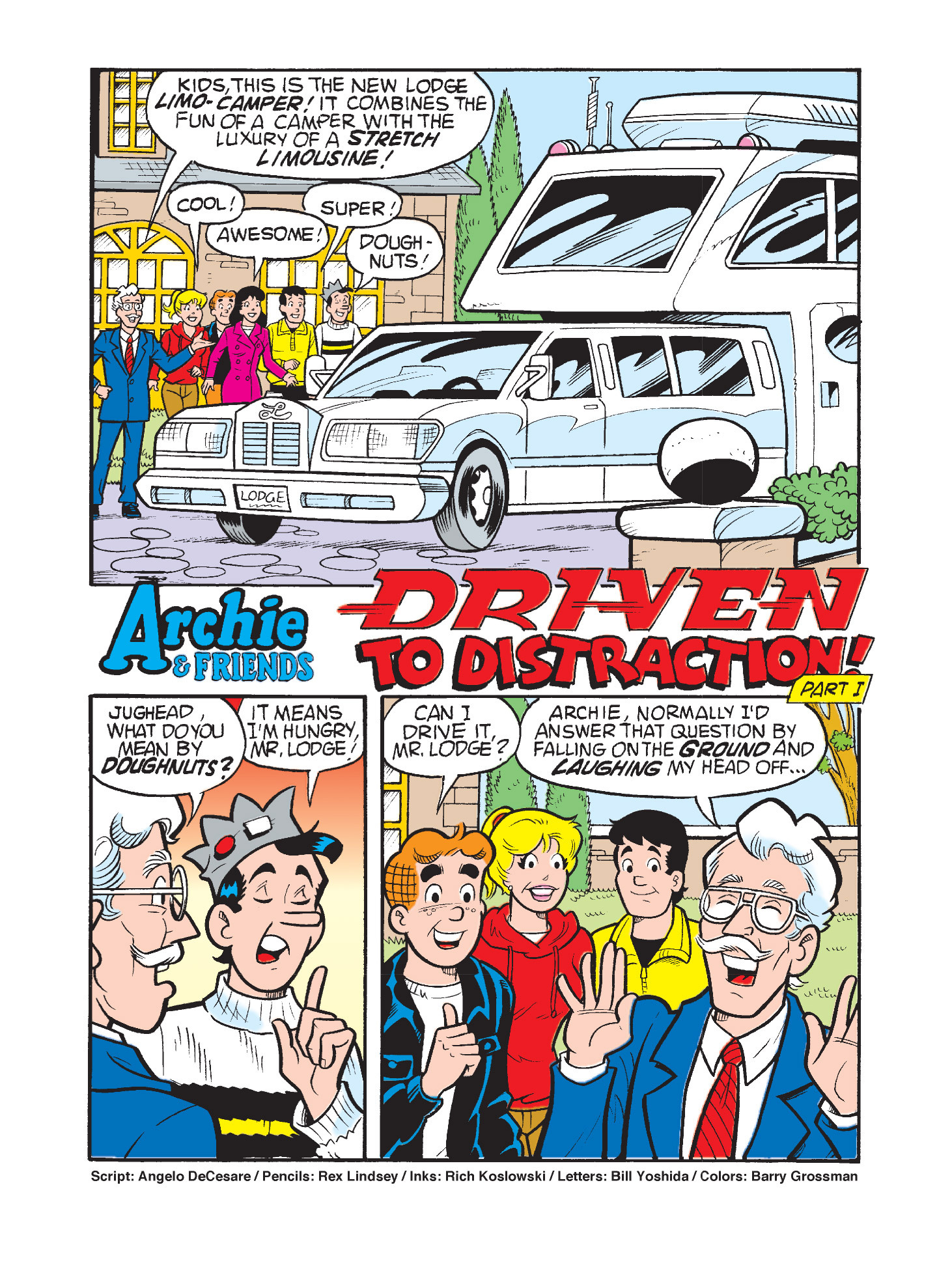 Read online Archie's Funhouse Double Digest comic -  Issue #3 - 8