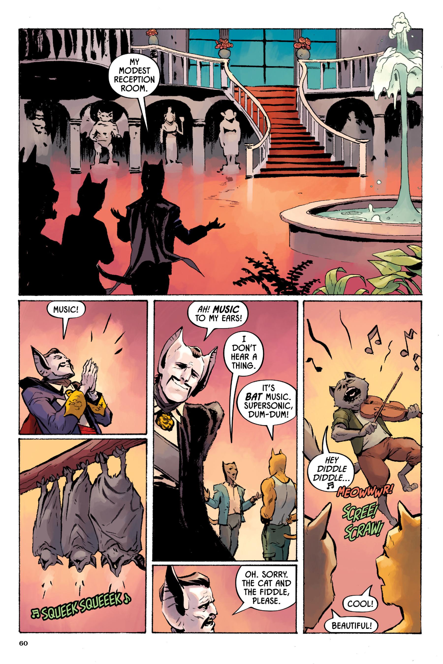 Read online Angel Catbird comic -  Issue # TPB 2 - 61