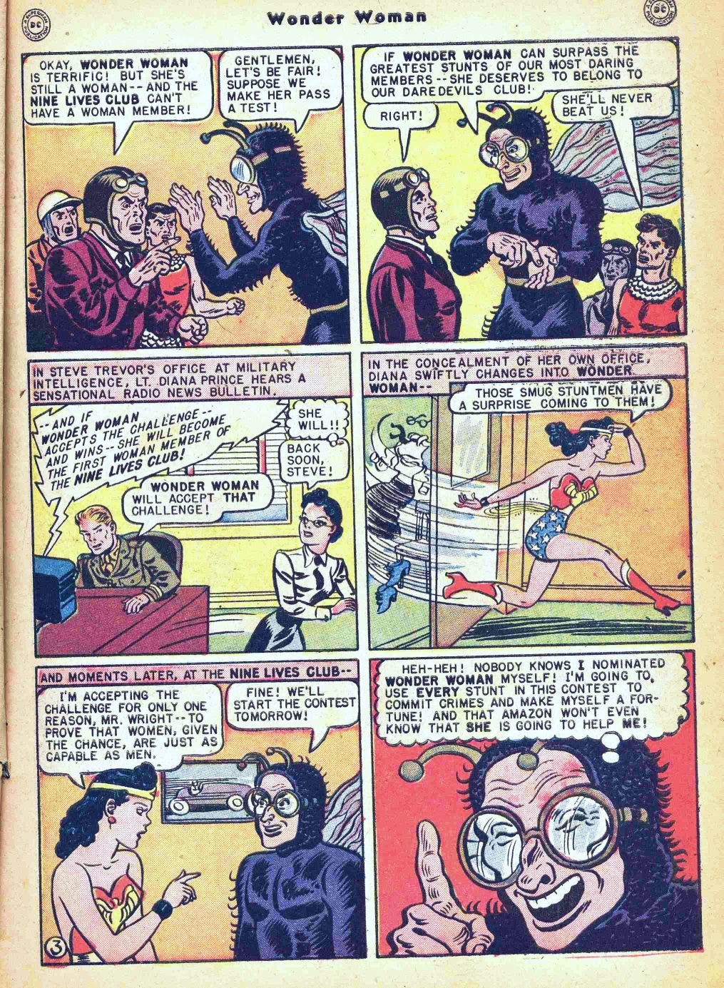 Read online Wonder Woman (1942) comic -  Issue #35 - 5