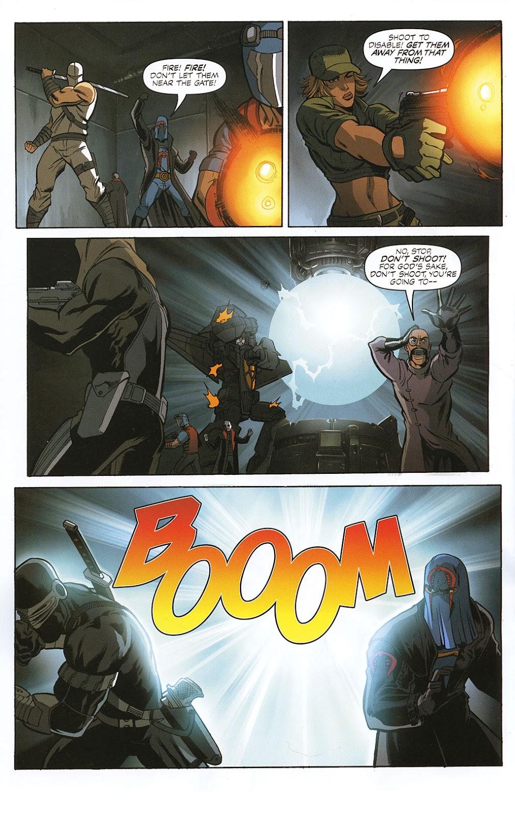 G.I. Joe vs. The Transformers II Issue #0 #1 - English 12
