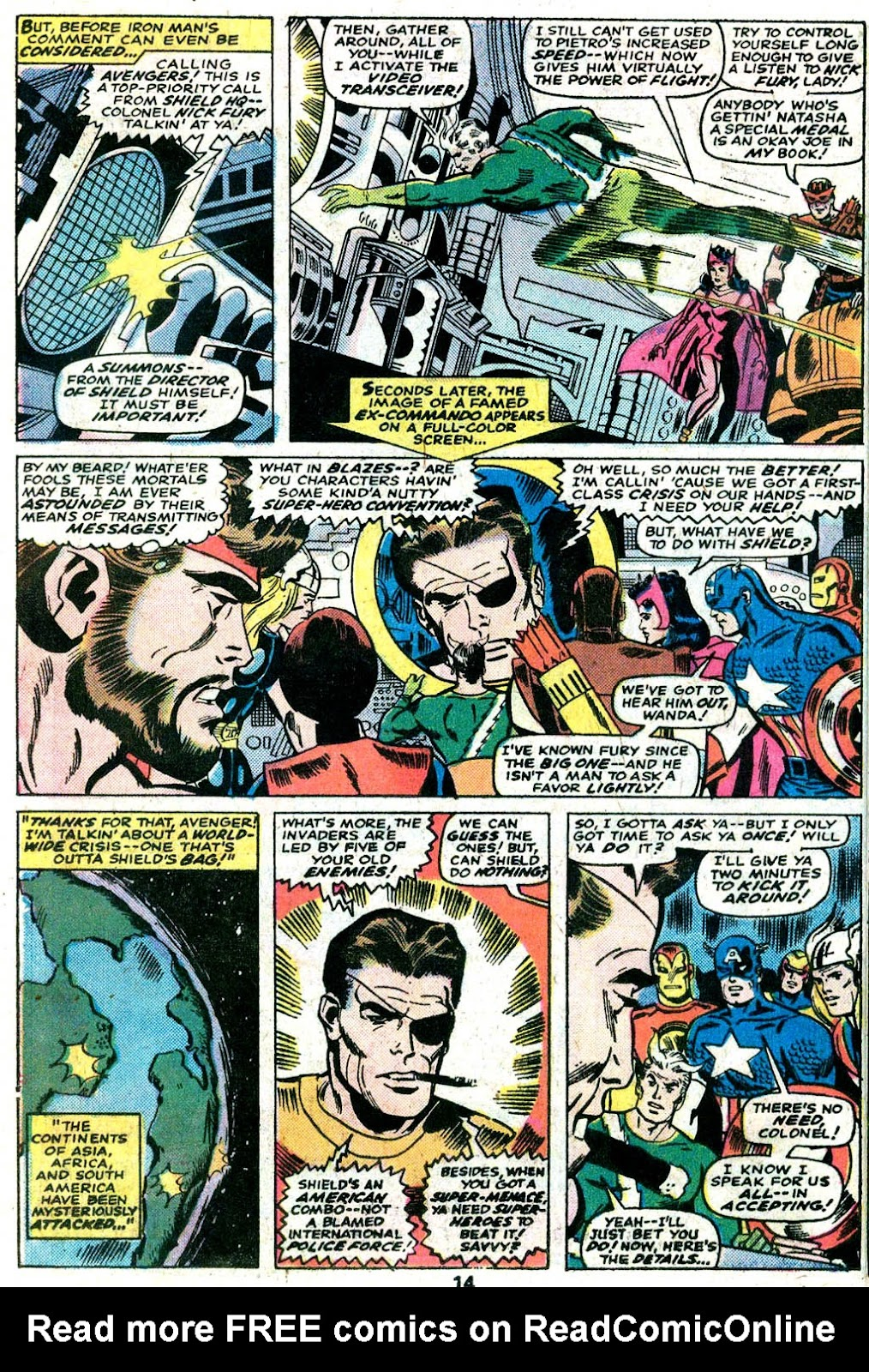 Giant-Size Avengers (1974) issue 5 - Page 11