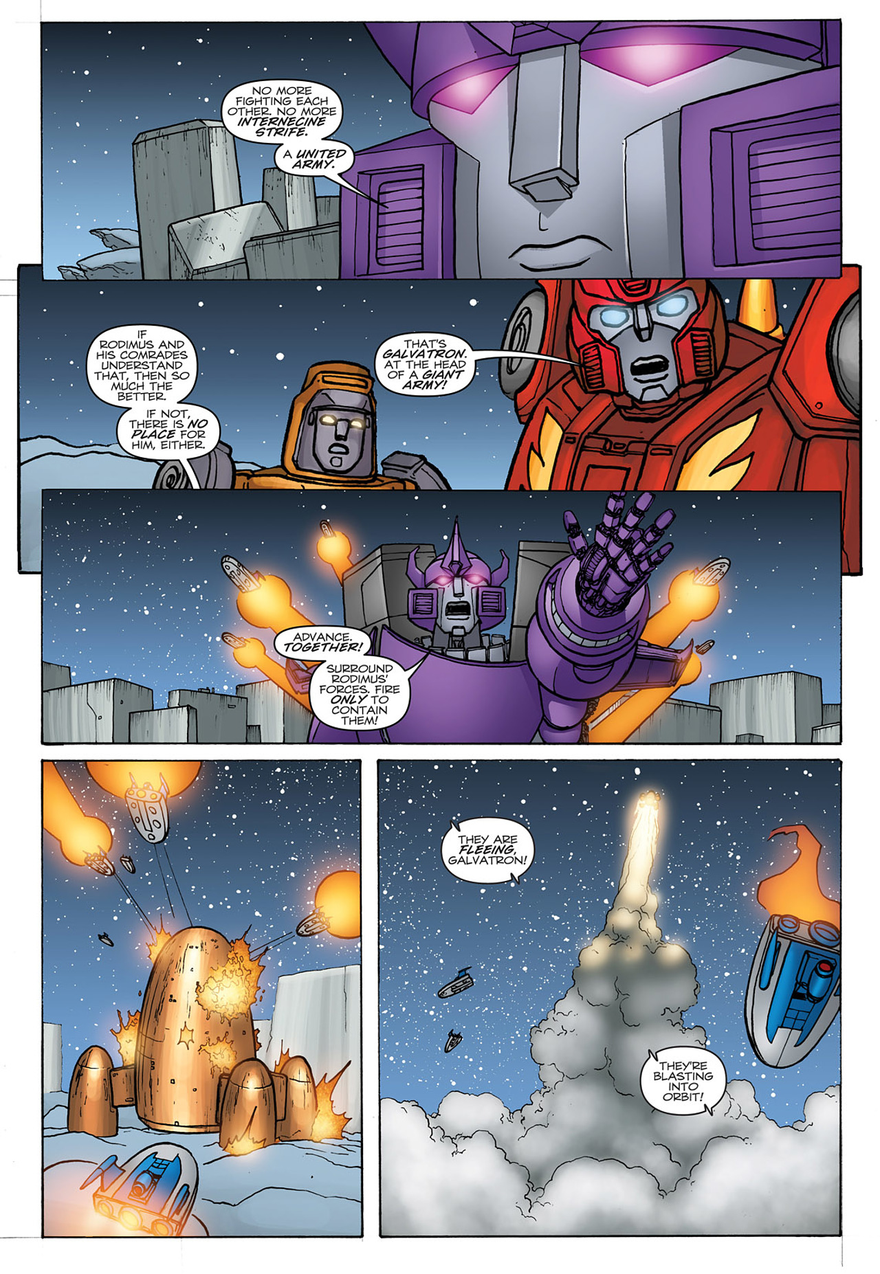Read online Transformers: Heart of Darkness comic -  Issue #4 - 25