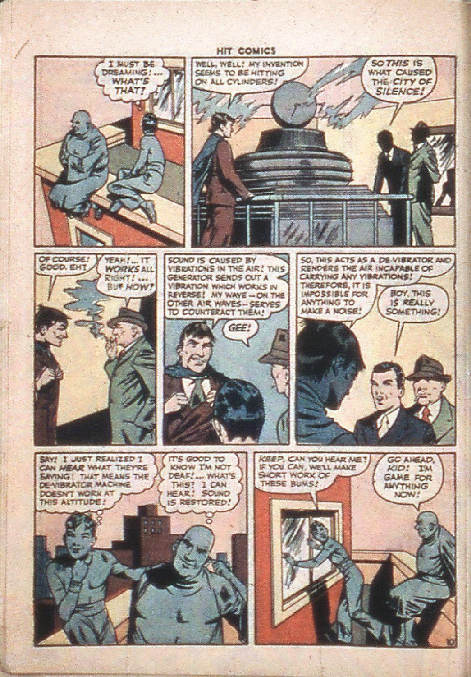 Read online Hit Comics comic -  Issue #37 - 12