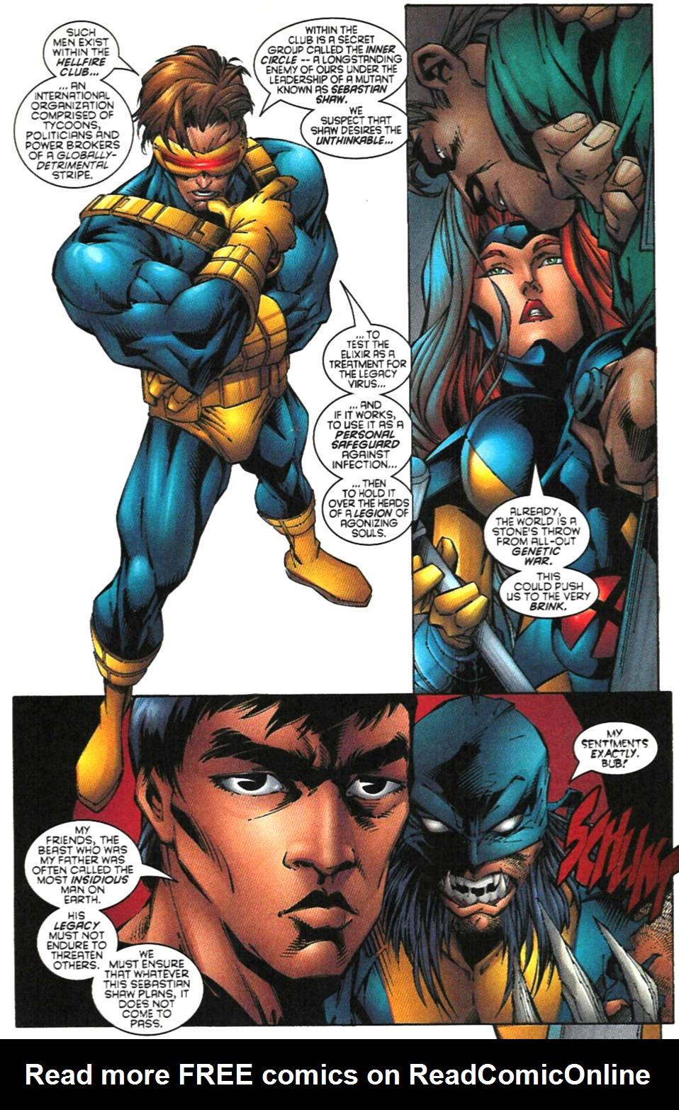 X-Men (1991) 62 Page 17