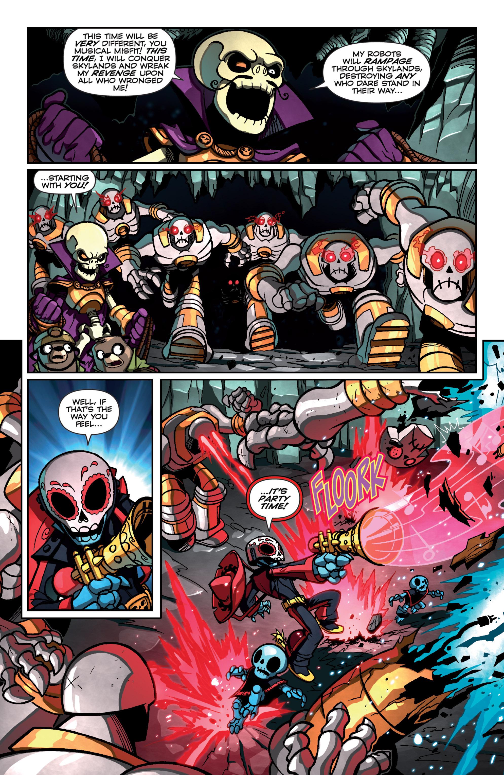 Read online Skylanders Superchargers comic -  Issue #4 - 12
