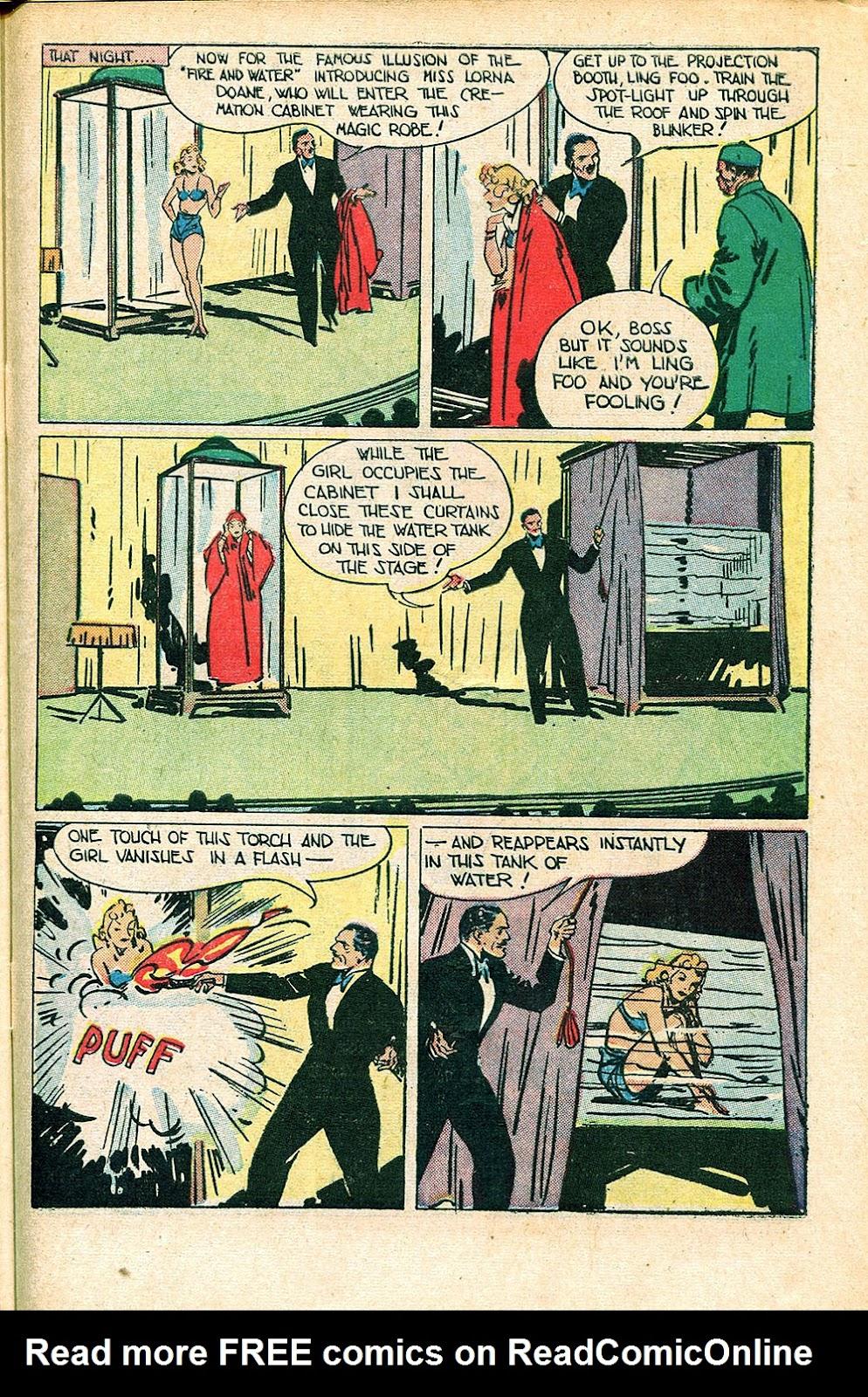 Read online Super-Magician Comics comic -  Issue #55 - 41