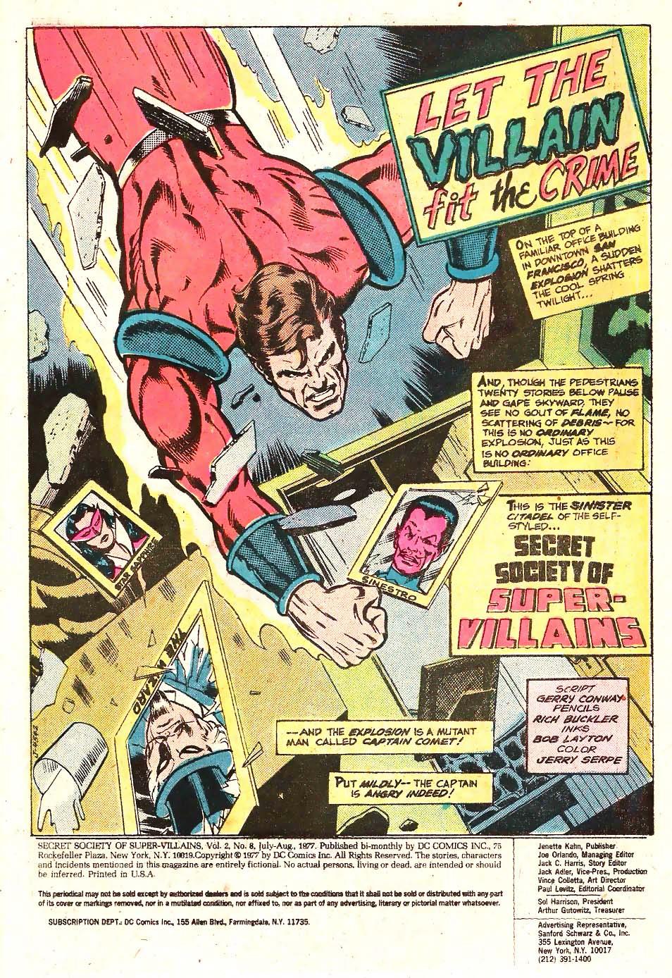 Read online Secret Society of Super-Villains comic -  Issue #8 - 2
