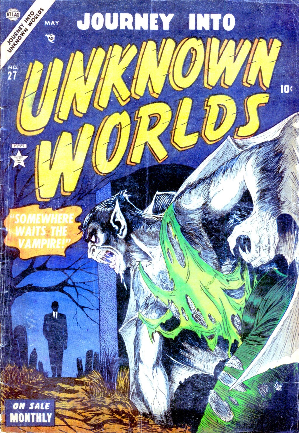 Journey Into Unknown Worlds (1950) issue 27 - Page 1